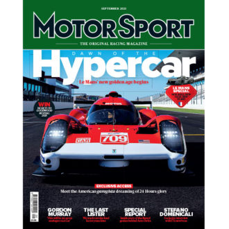 Product image for September 2021 | Dawn of the Hypercar | Motor Sport Magazine