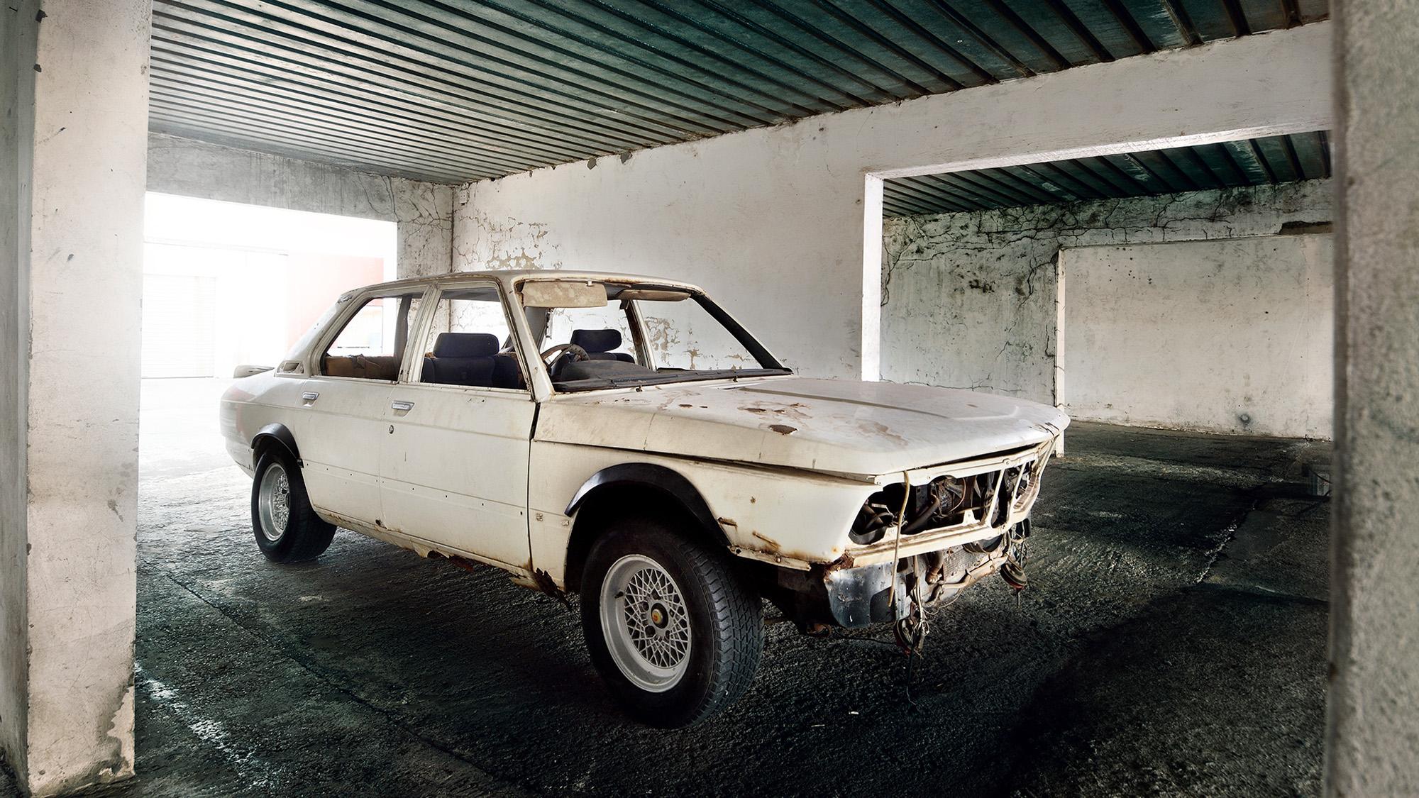 BMW 530 MLE pre restoration