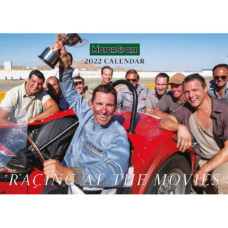 Product image for Racing at the Movies Wall Calendar | 2022 | Pre-Order today