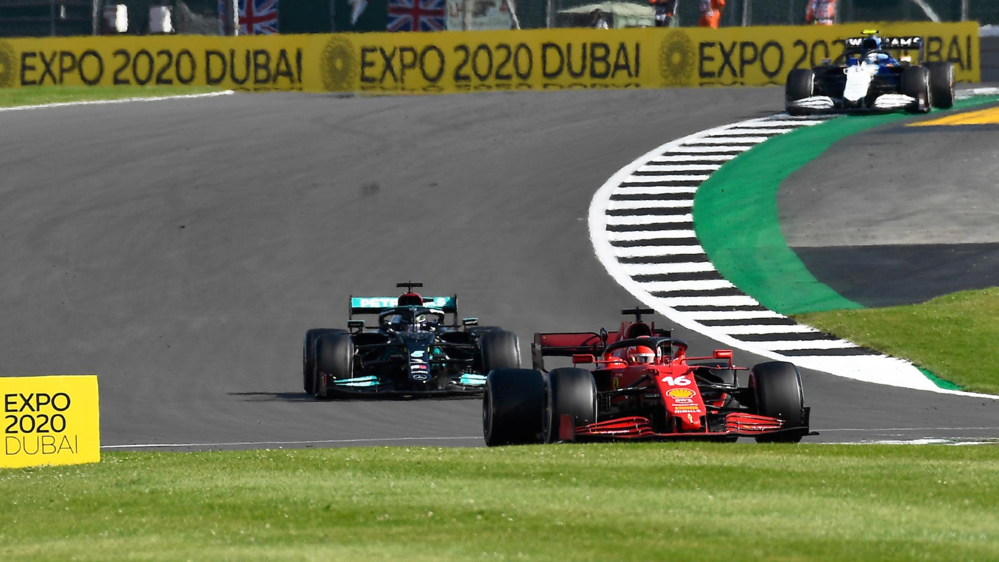 Charles Leclerc, 2021 British GP