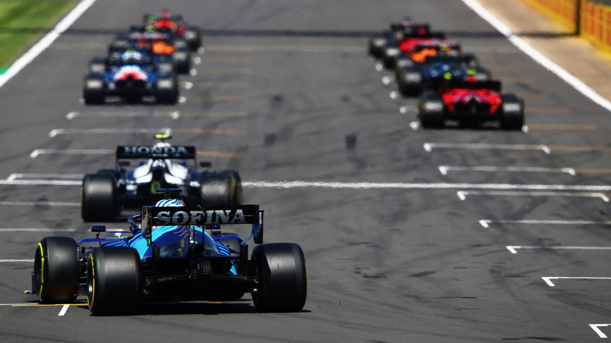 George Russell, 2021 British GP