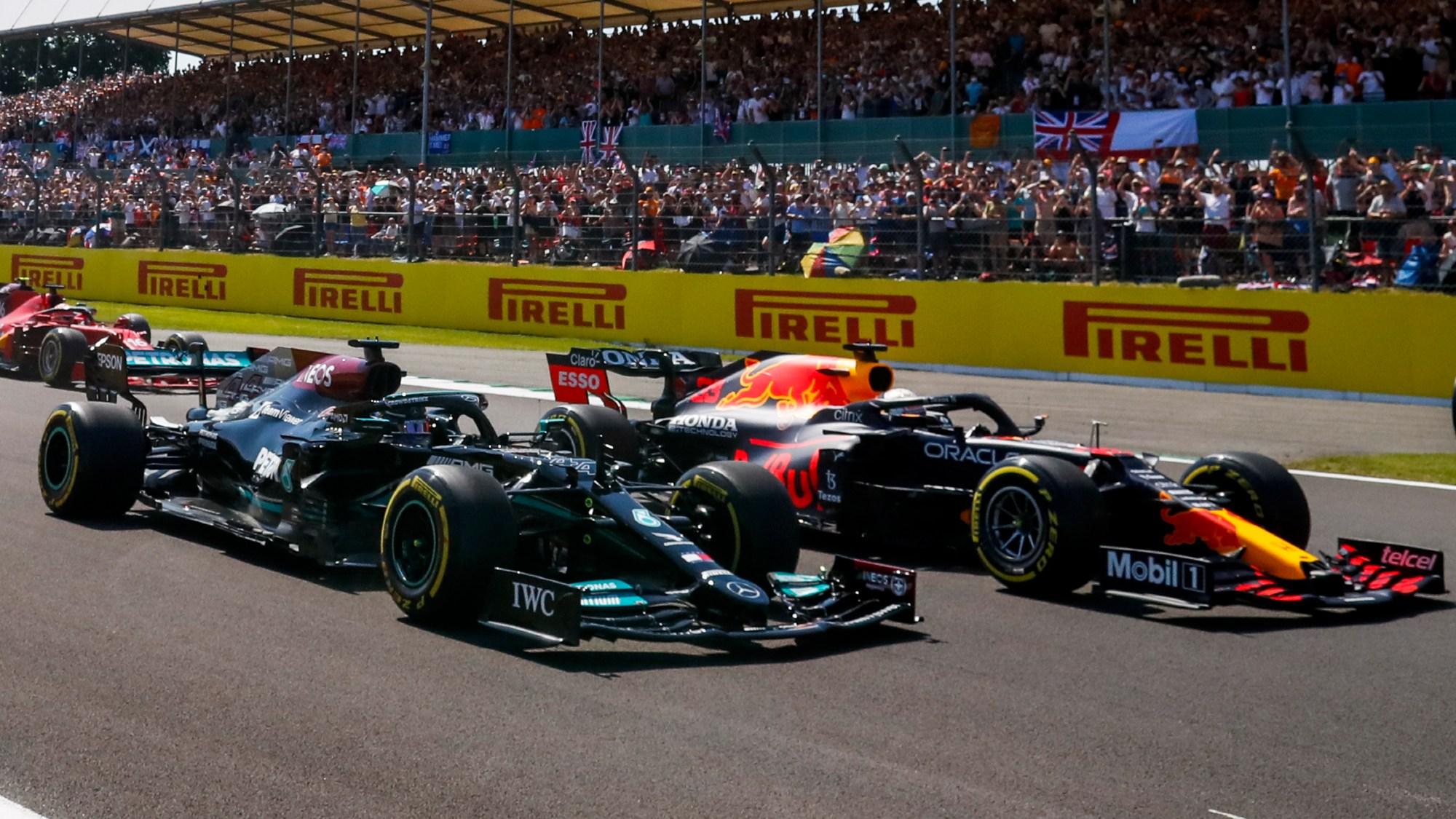 Lewis Hamilton, Max VERSTAPPEN, 2021 British GP