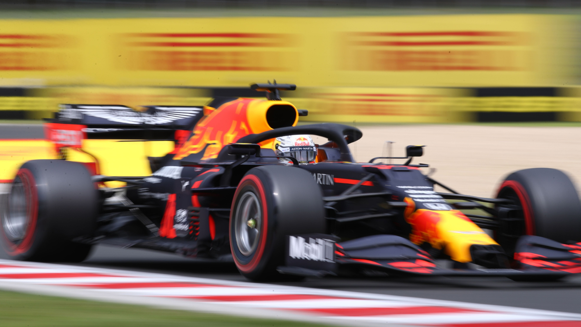 Max Verstappen during the 2020 Hungarian Grand Prix