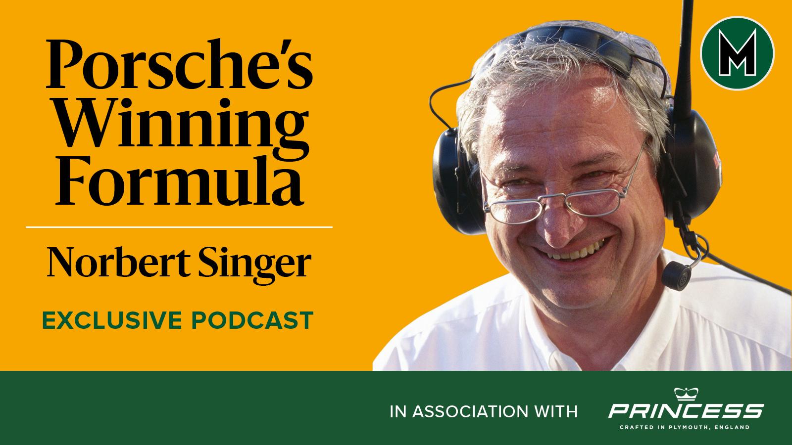 Norbert Singer podcast header