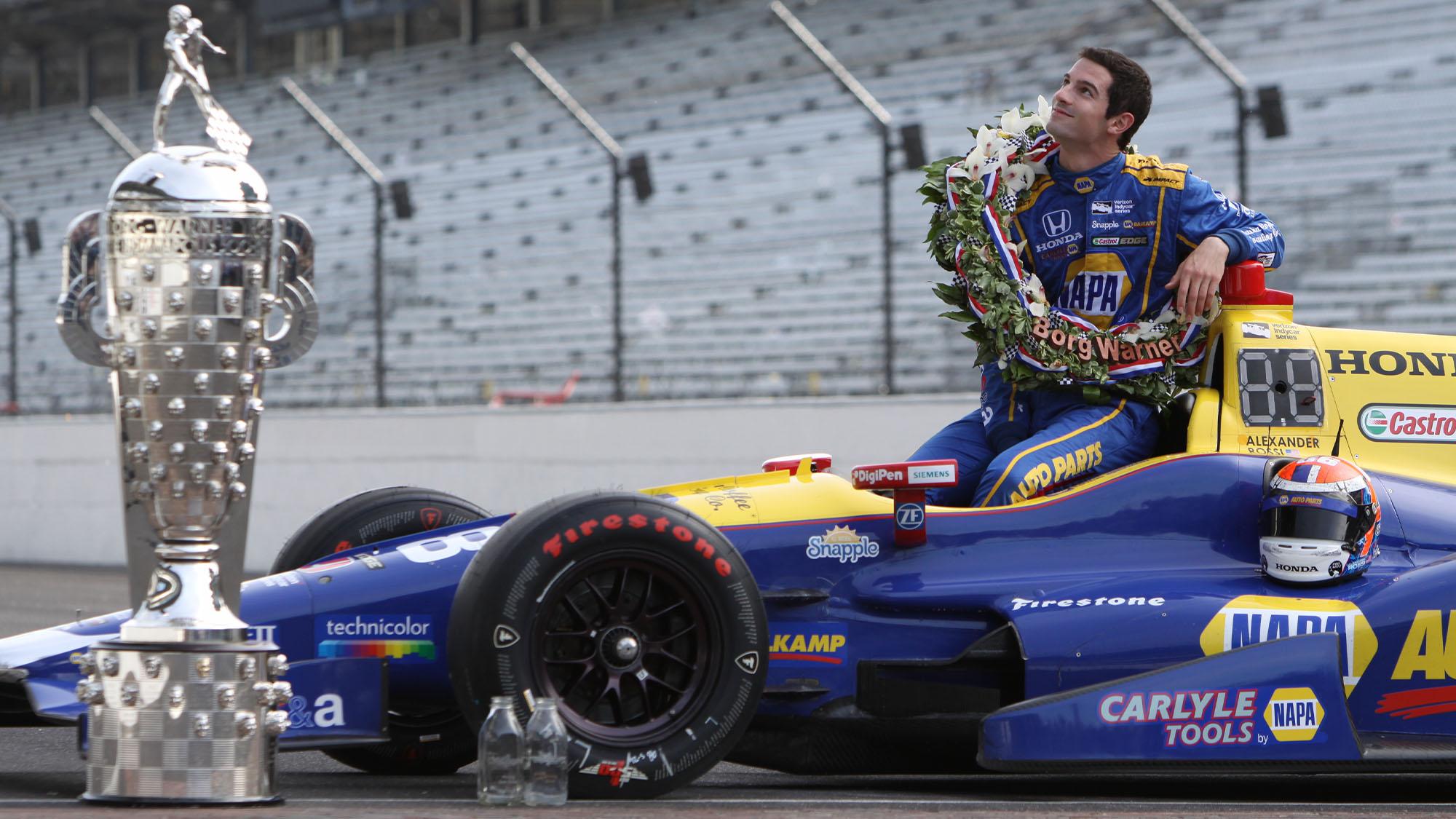 Alexander Rossi 2016 Indy 500