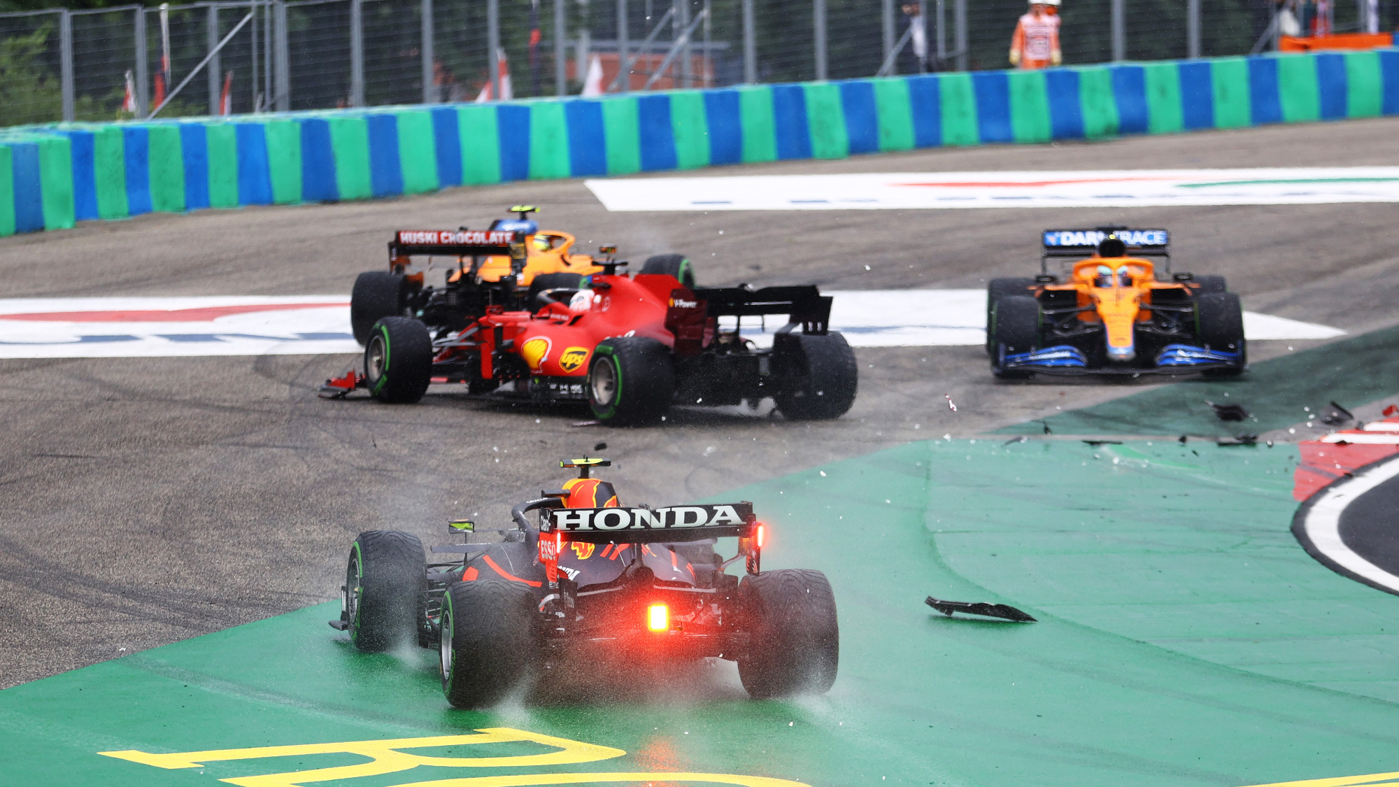 Hungarian GP 2021 Race Start