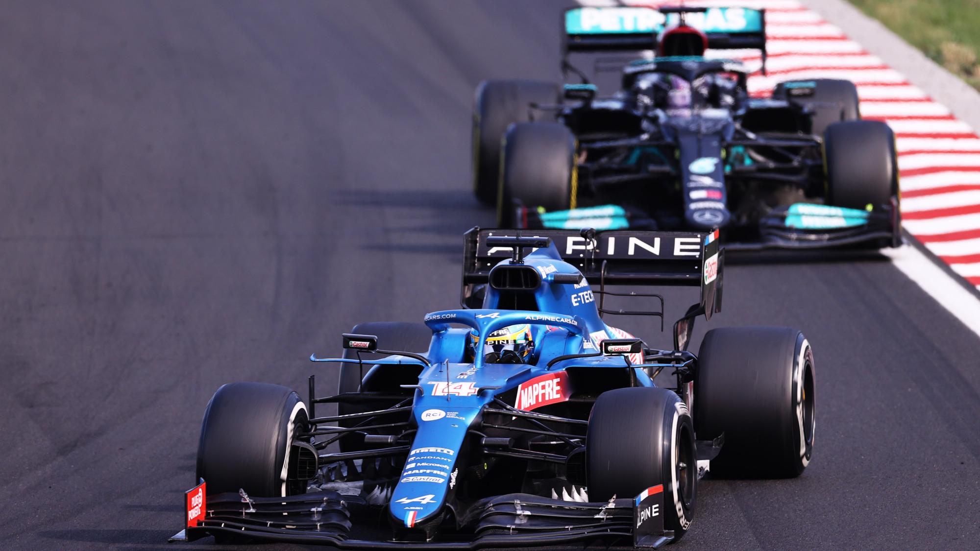 Fernando Alonso, 2021 Hungarian Grand Prix