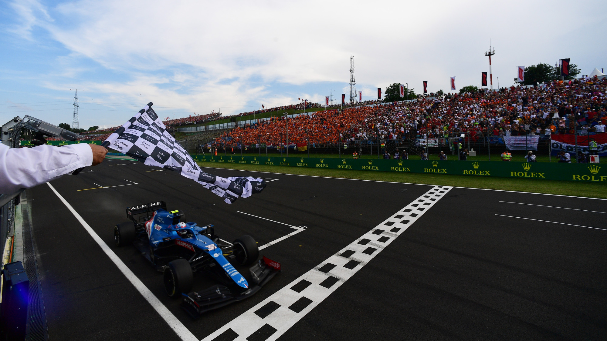 Esteban Ocon, 2021 Hungarian GP