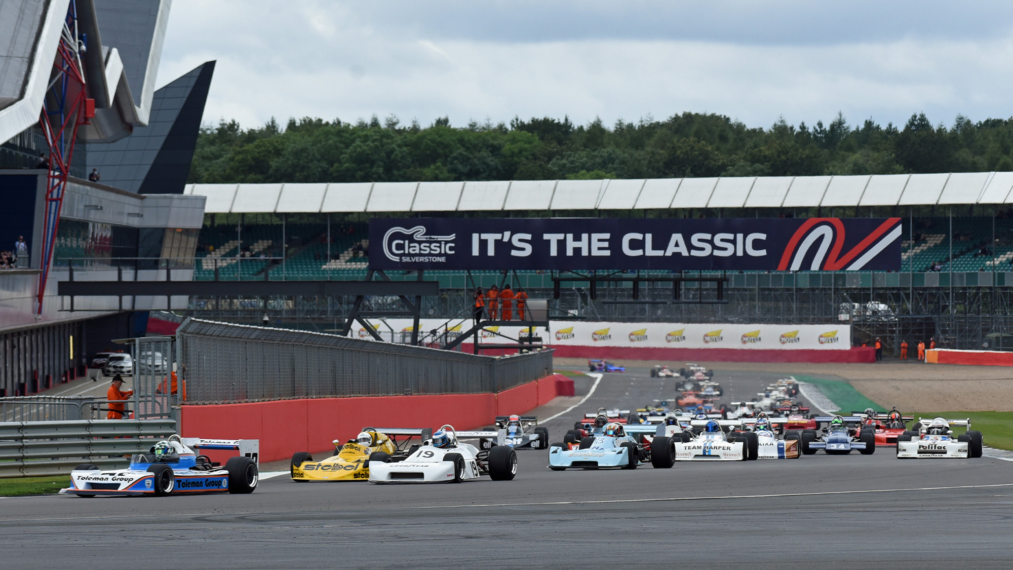 Matt Wrigley leads F2 grid at 2021 Classic at Silverstone