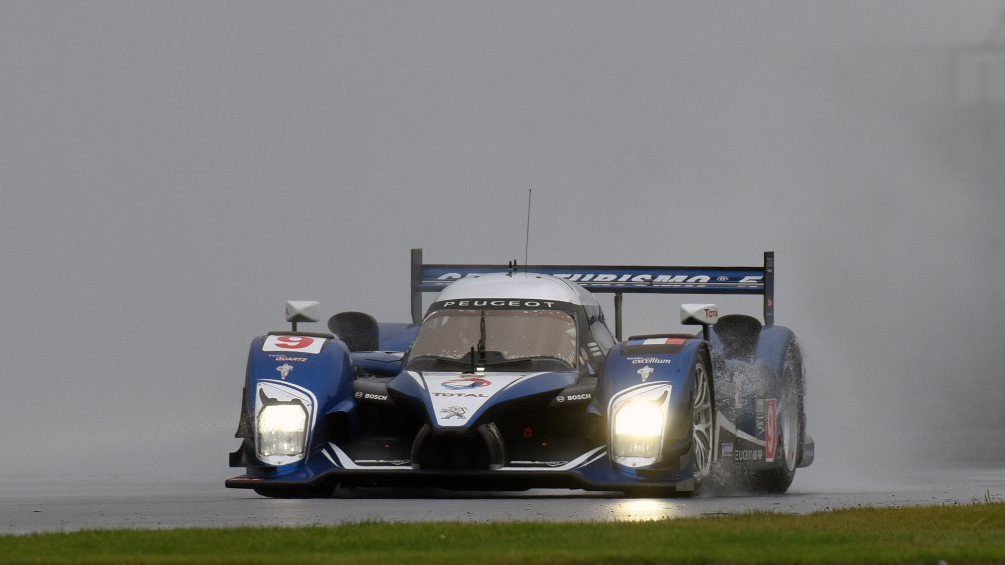 Peugeot 908 at the Classic at Silverstone 2021