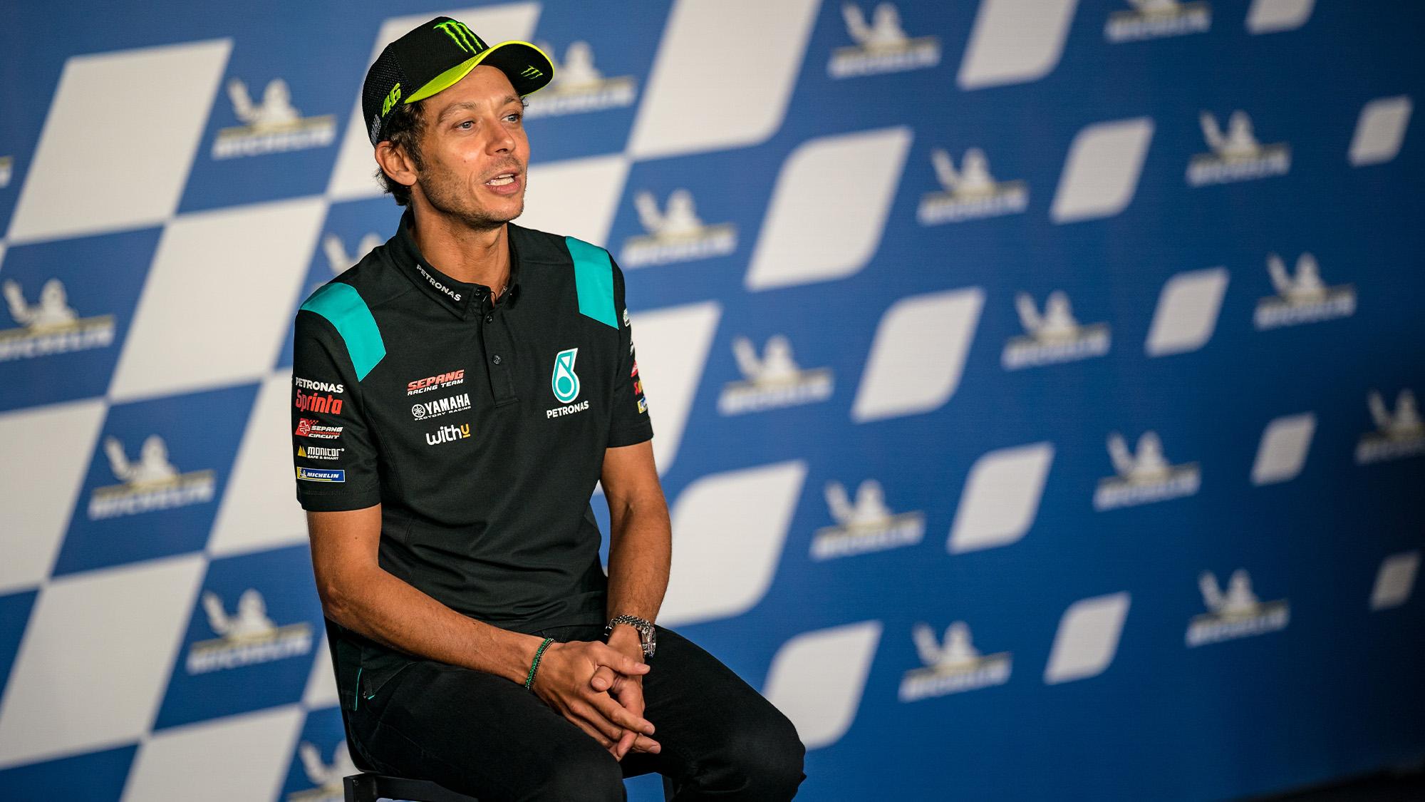 Valentino Rossi announces his retirment from MotoGP racing in Austria 2021