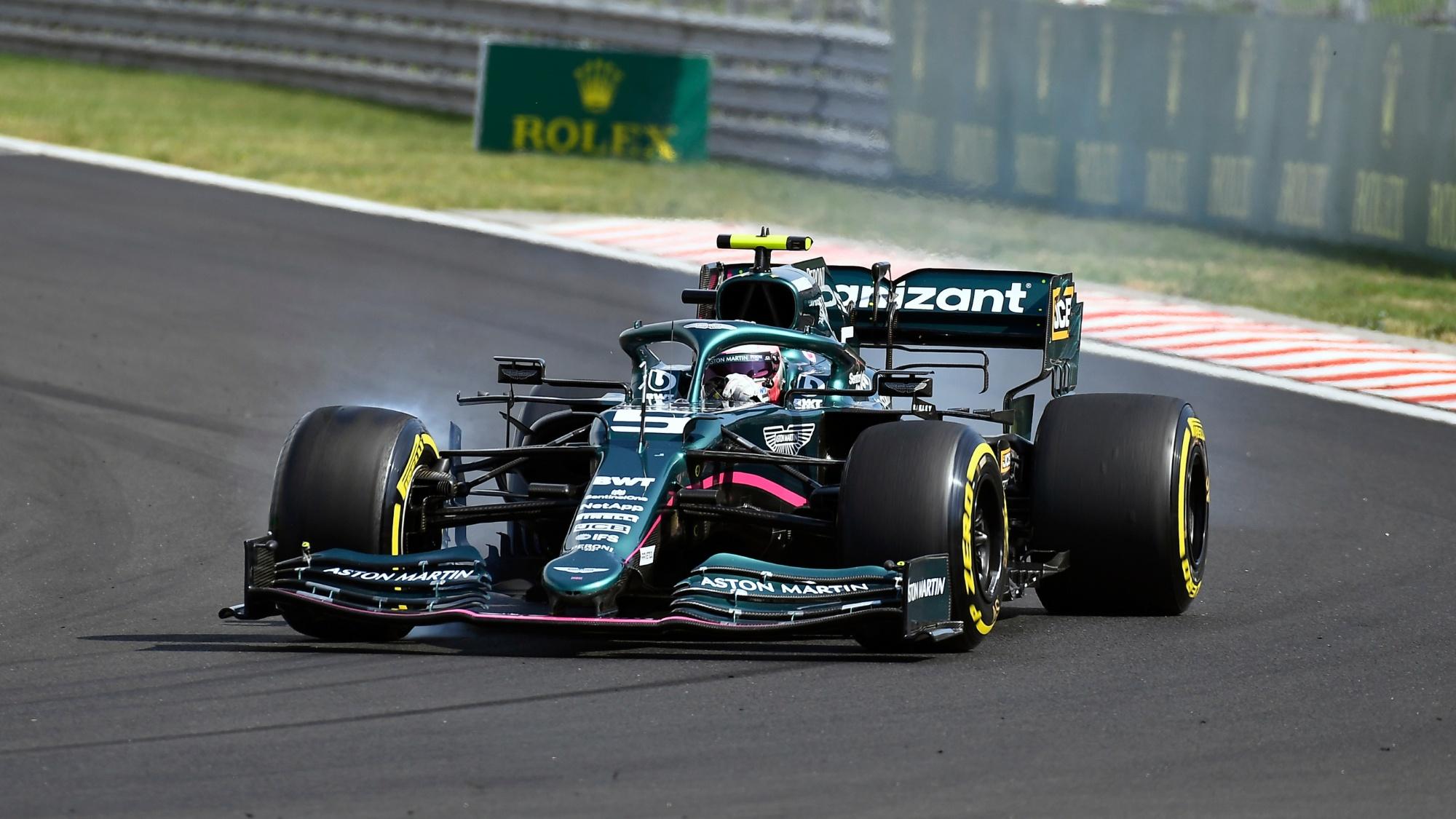 Sebastian Vettel, 2021 Hungarian GP
