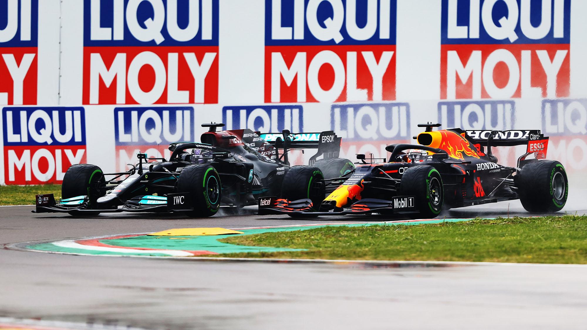 Hamilton Verstappen imola 2