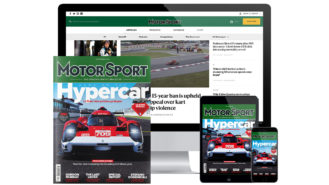 The Motor Sport website is changing