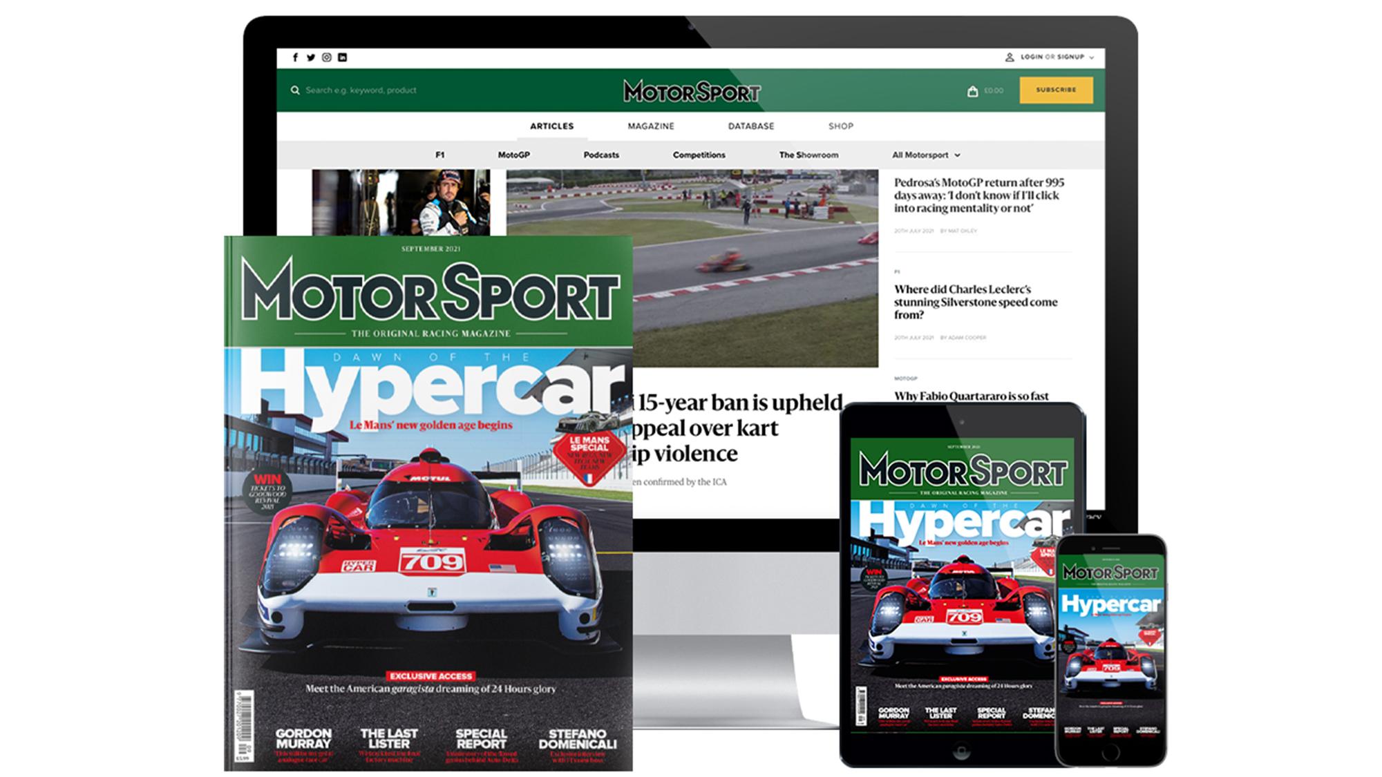 F1, Motorsport Magazine