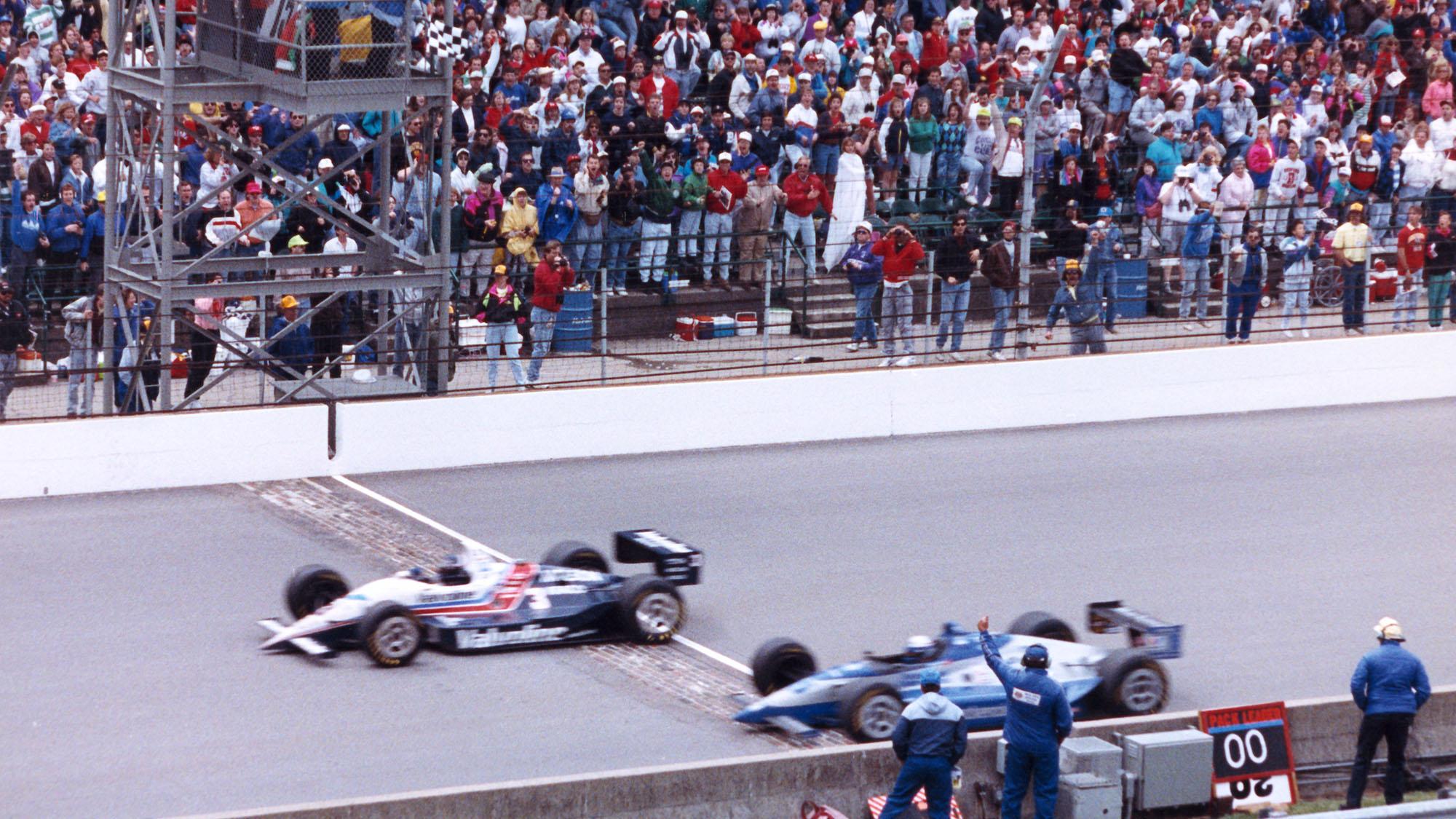 Al Unser Junior 1992 Indy 500