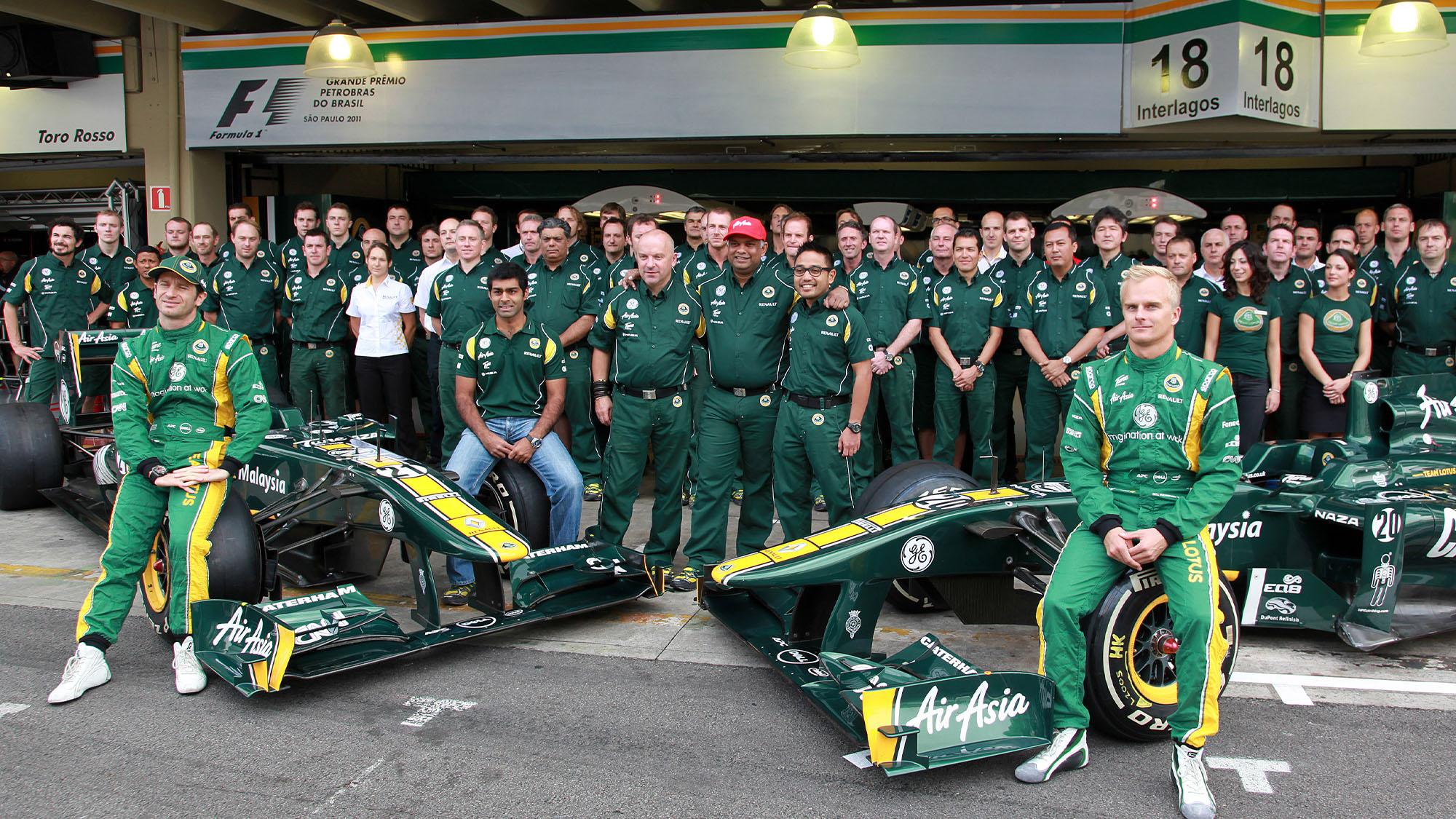 Lotus team photo