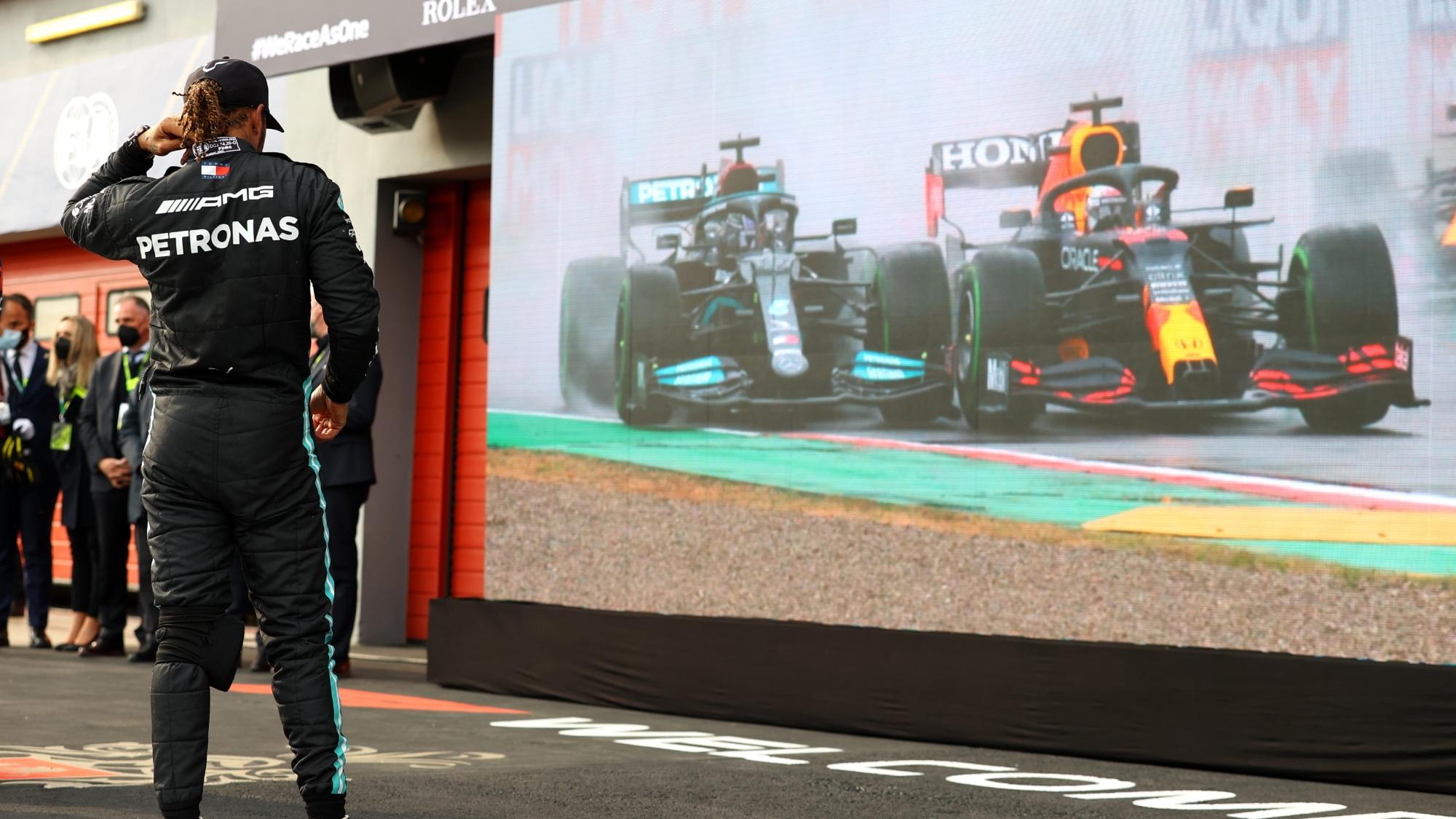 Lewis Hamilton, 2021 Emilia Romagna GP