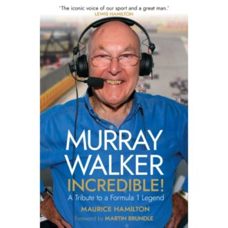 Product image for Murray Walker: Incredible! | Pre-Order Now | published 11/11/2021