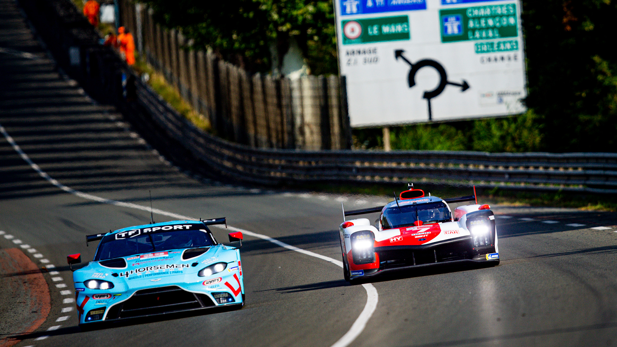 Toyota Hypercar and Aston Martin at Le Mans 2021