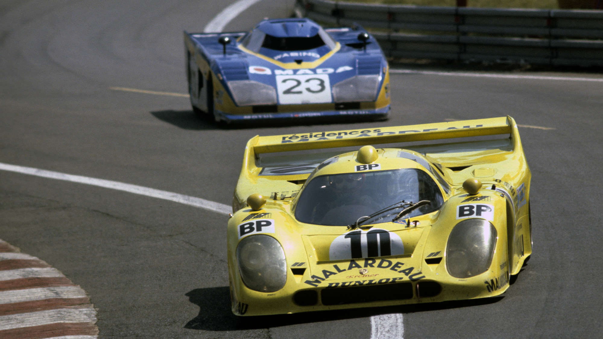 Kremer 917 in the 1981 Le Mans 24 Hours