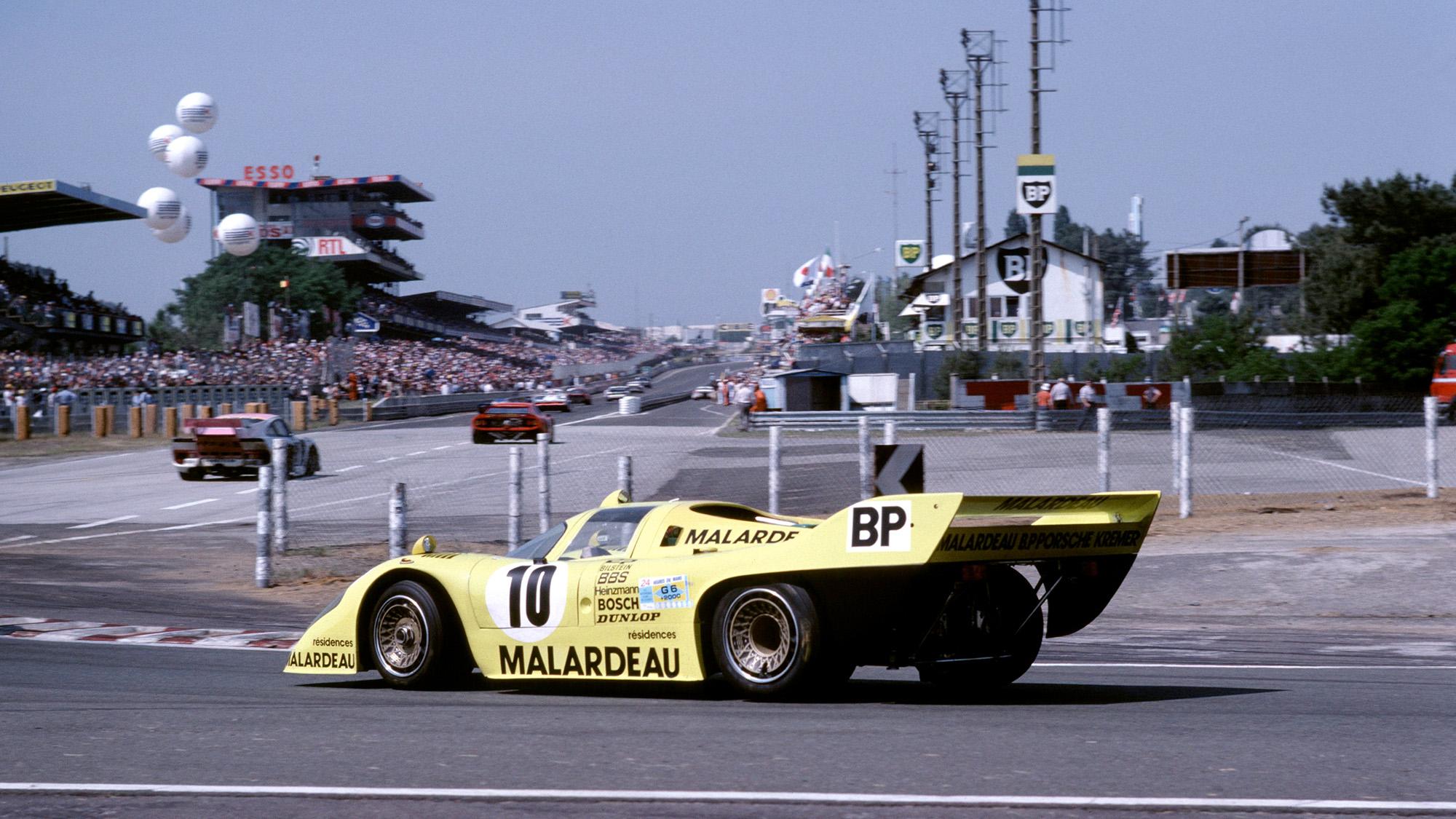Kremer 917 at Le Mans in 1981