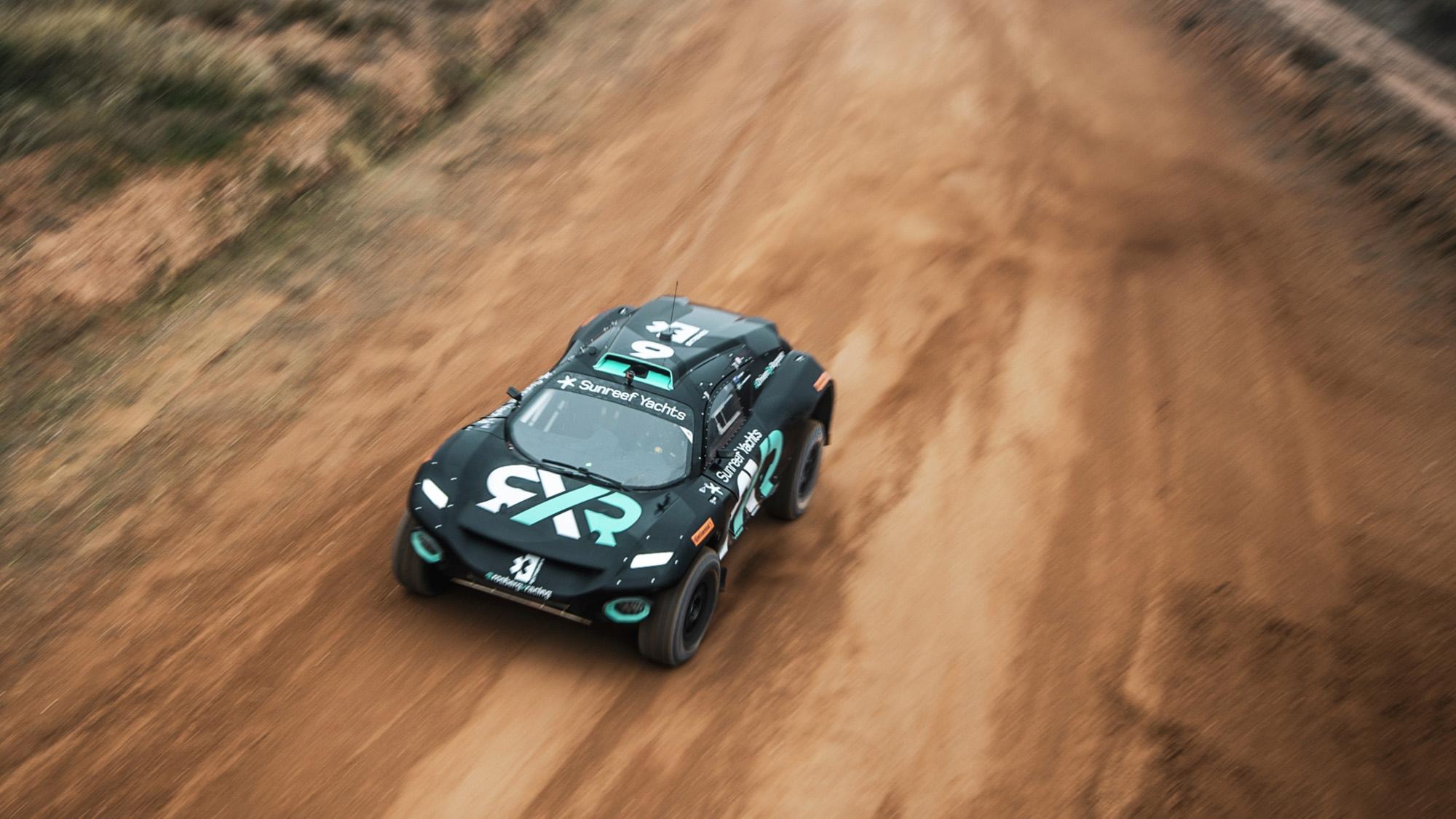 Rosberg RXR Extreme E car