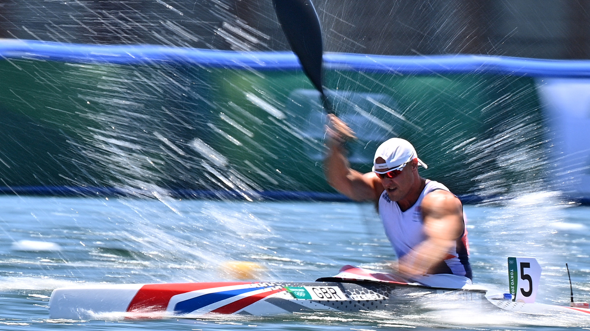 Liam Heath in the 200m single Kayak event at the Tokyo 2020 Olympic Games