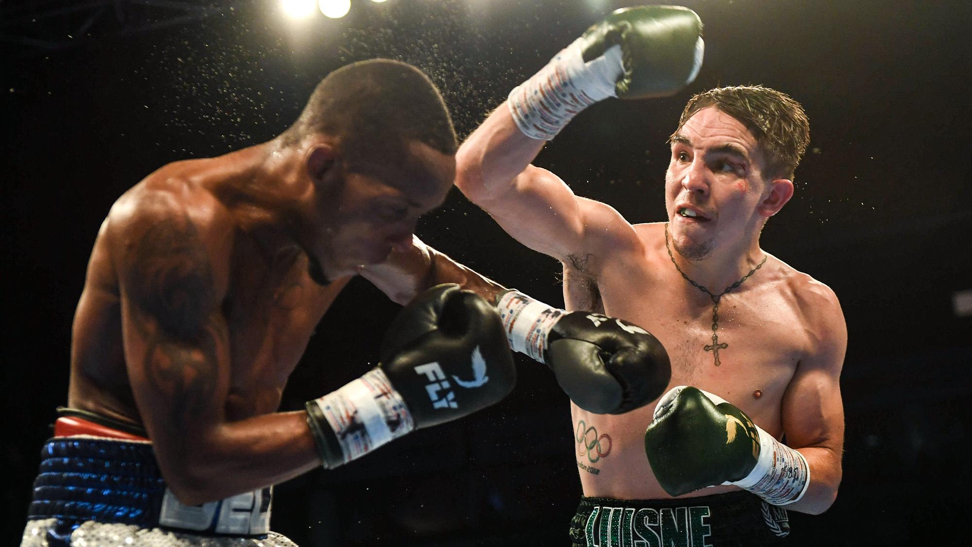 Michael Conlon Adeilson Dos Santos 2018 fight
