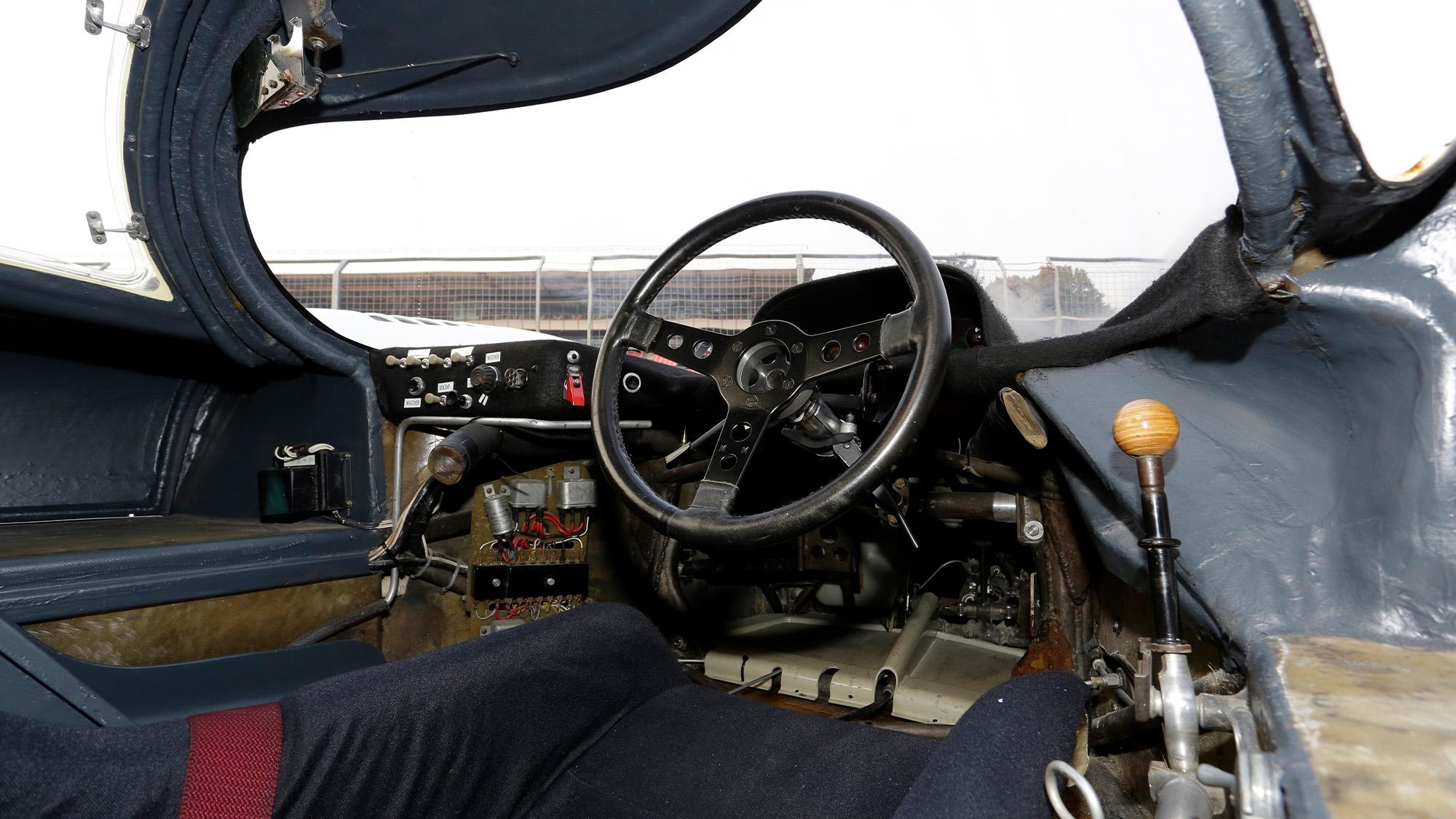 1971 Martini Porsche 917 interior
