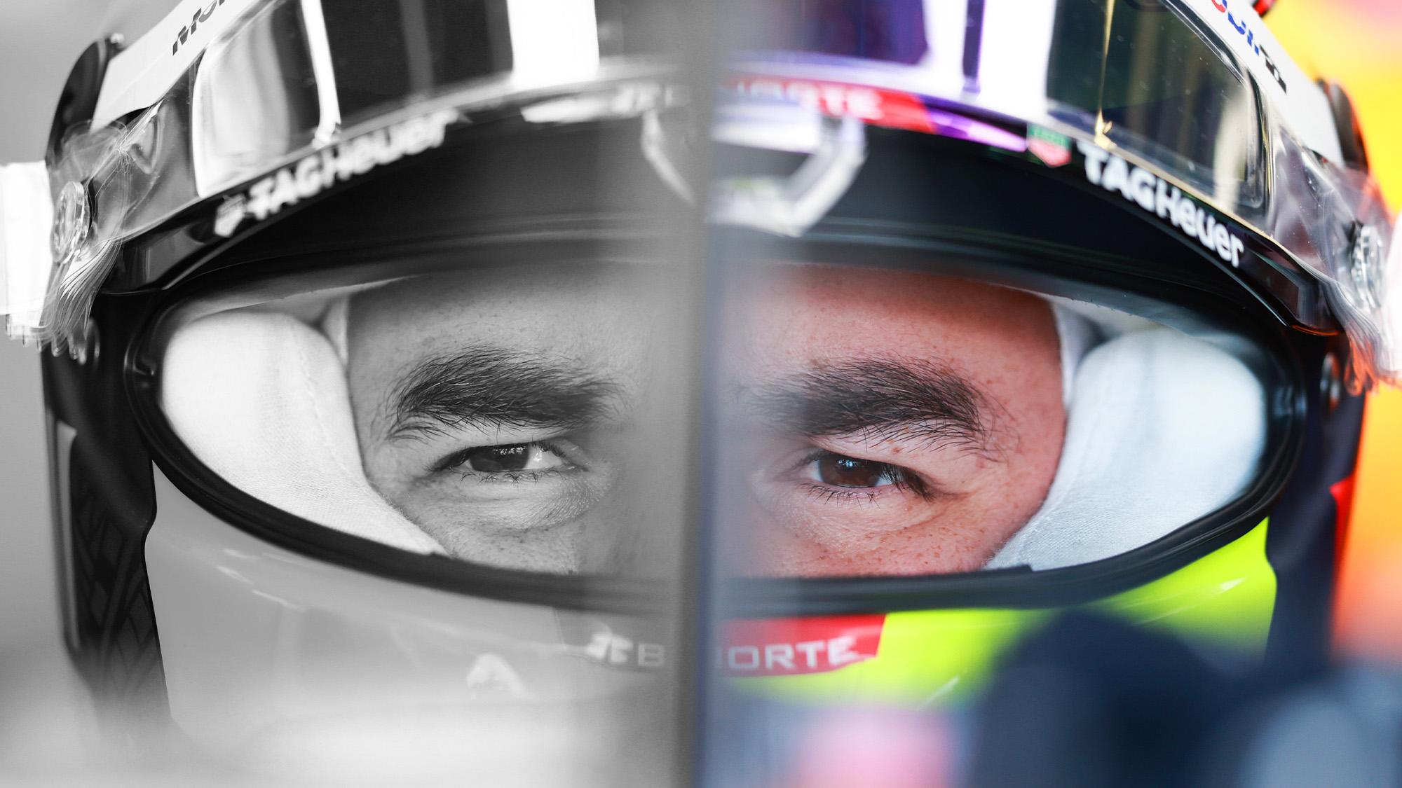 Sergio Perez 50-50 split