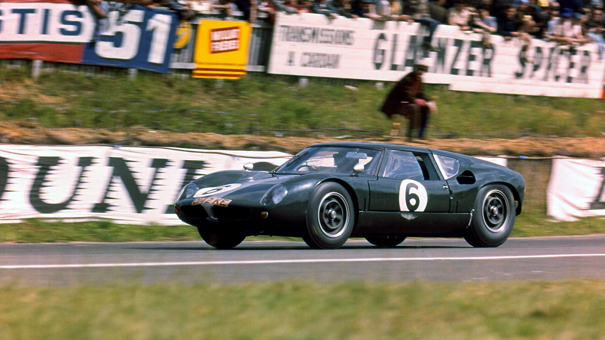 Lola Mk6 GT at Le Mans in 1963