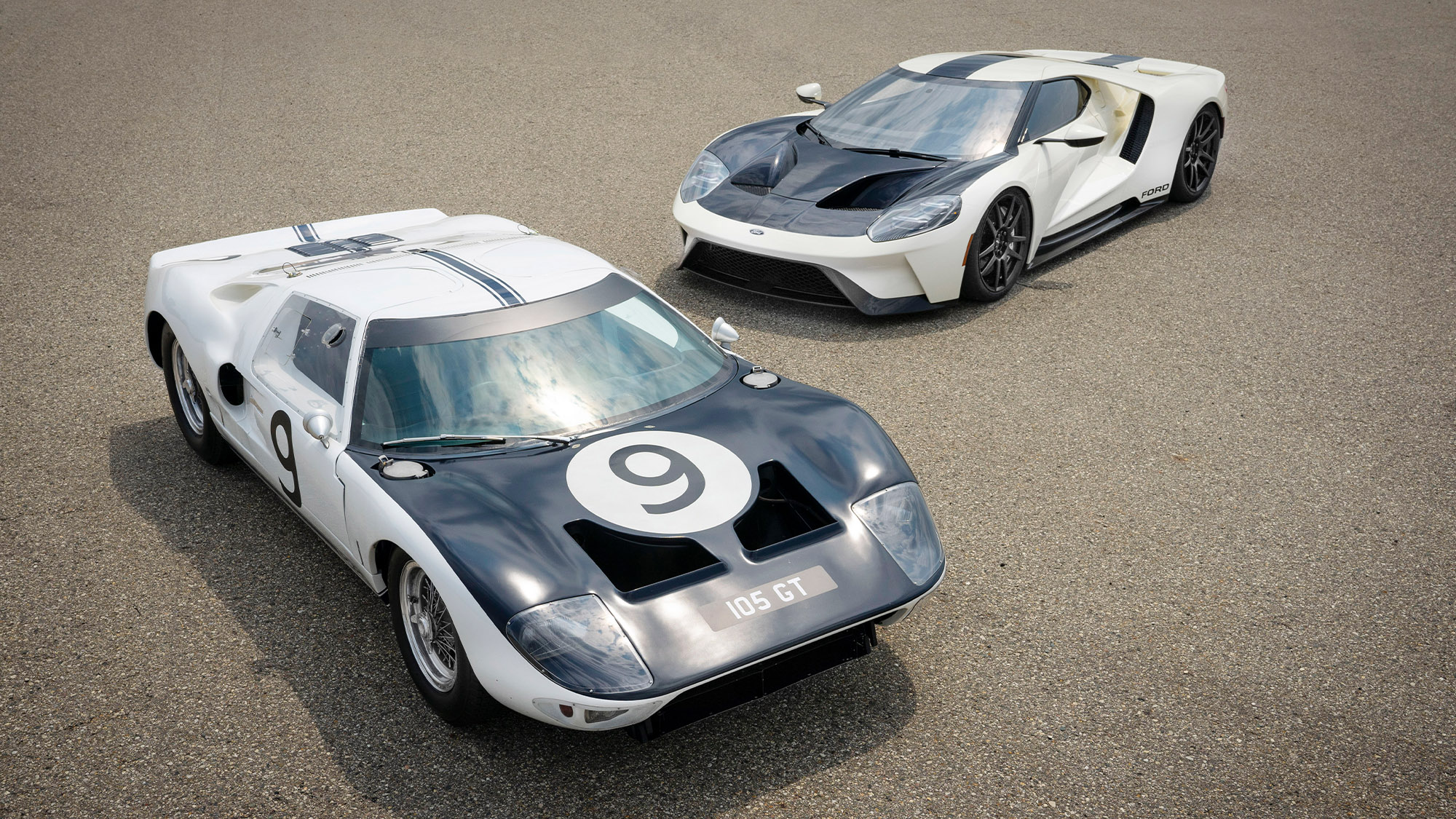 Ford GT heritage with 1964 Ford GT Prototype