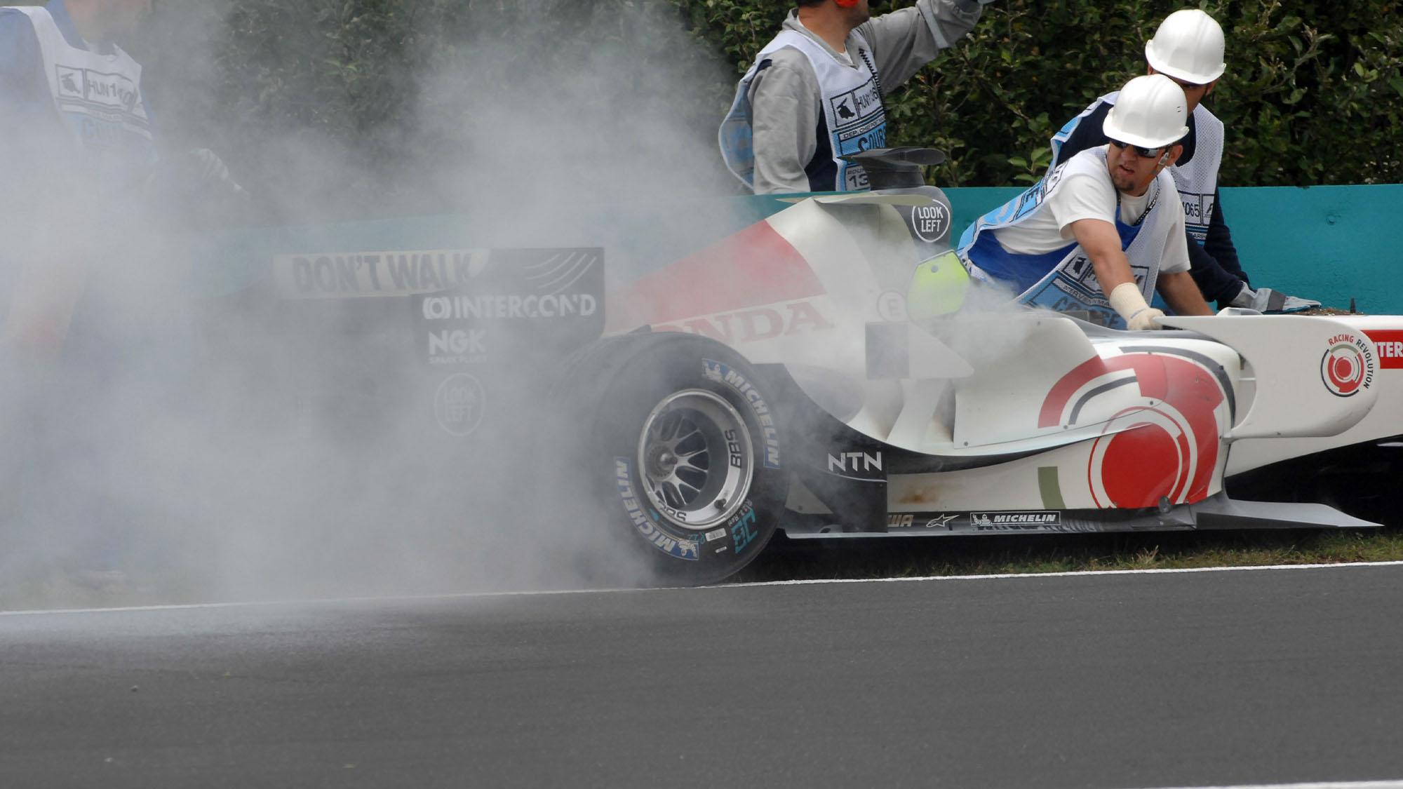 Honda engine blow
