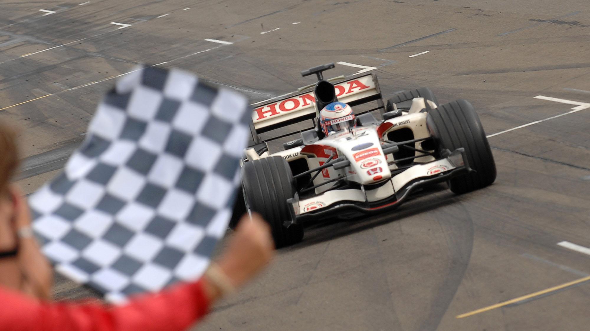 2006 Hungarian GP Jenson Button