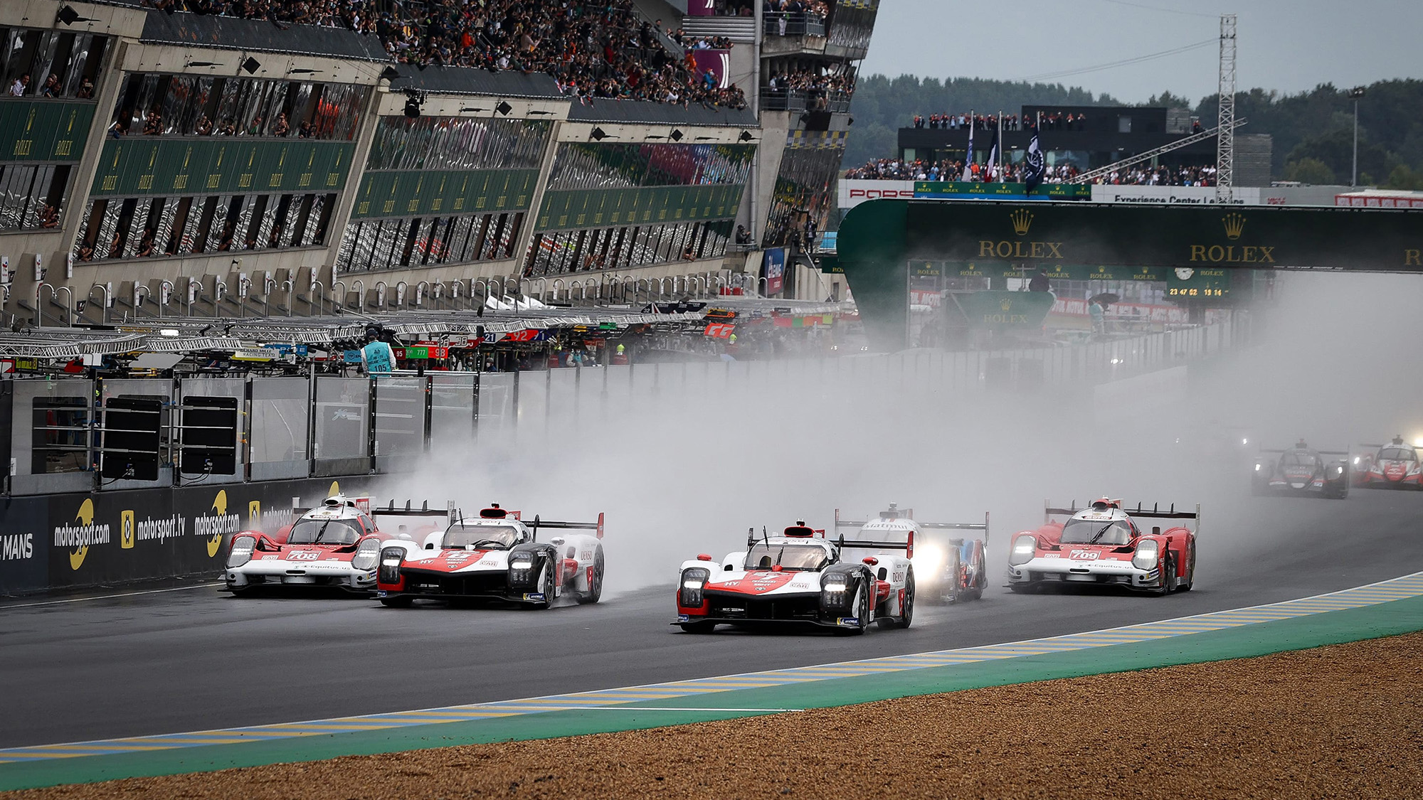 Start of 2021 Le Mans 24 Hours