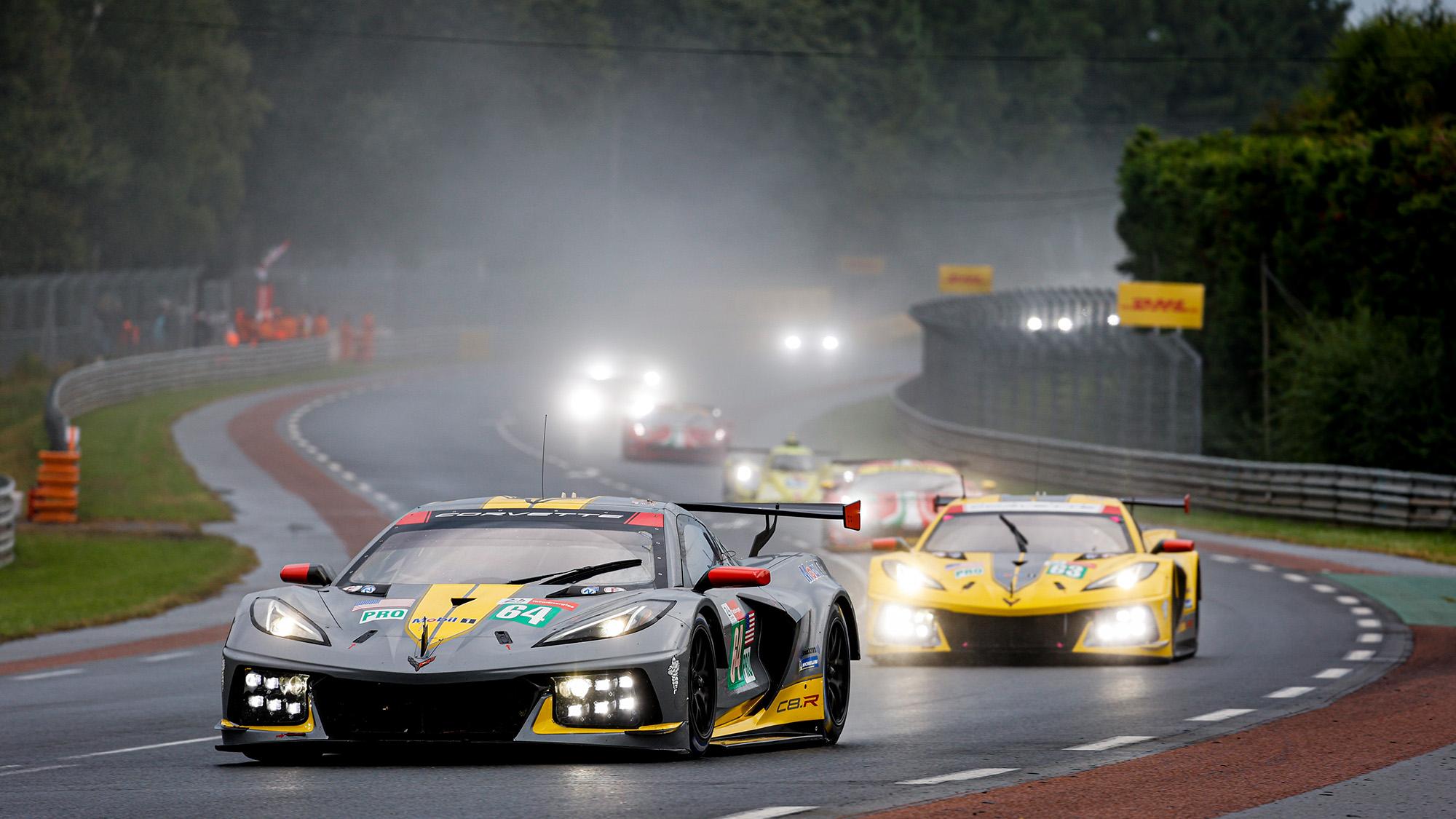 Chevrolet Corvettes at Le Mans 24 Hours 2021