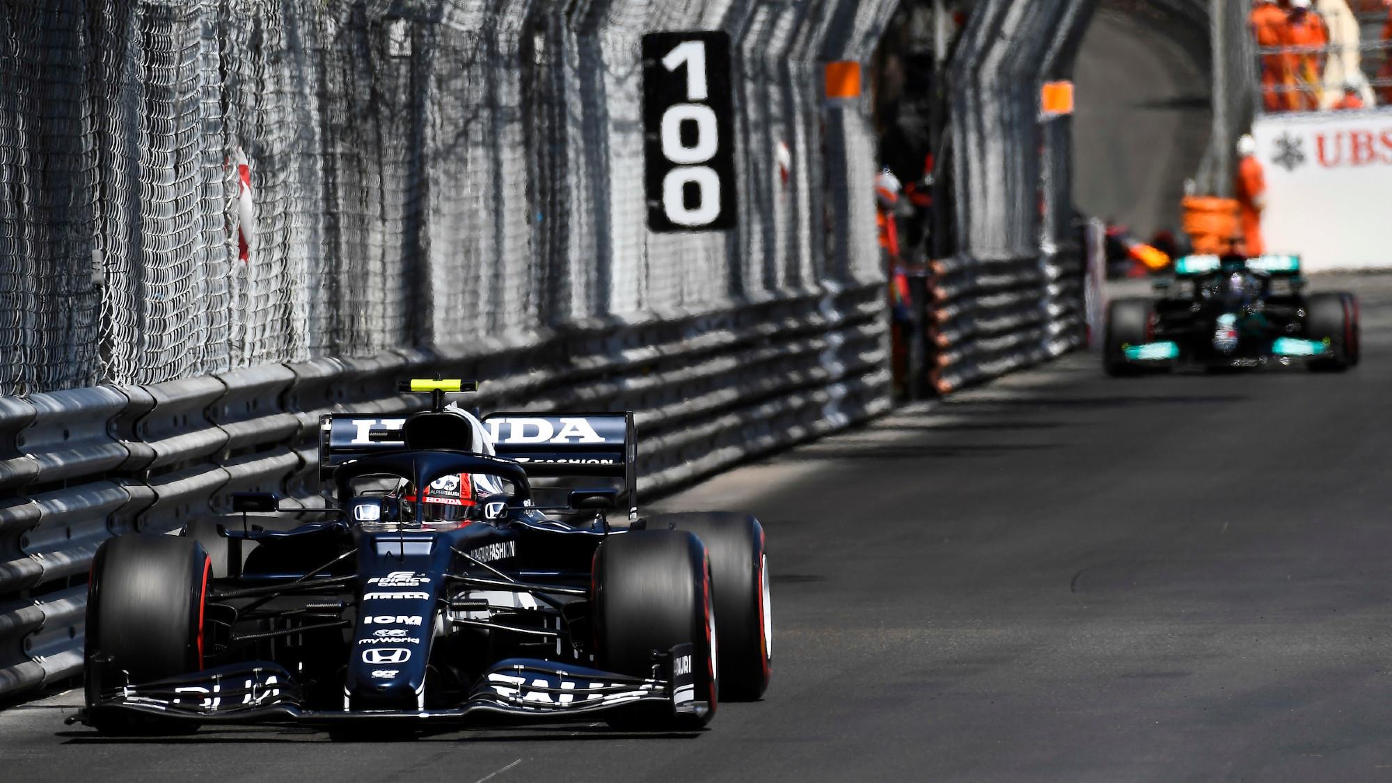 Pierre Gasly, 2021 Monaco GP