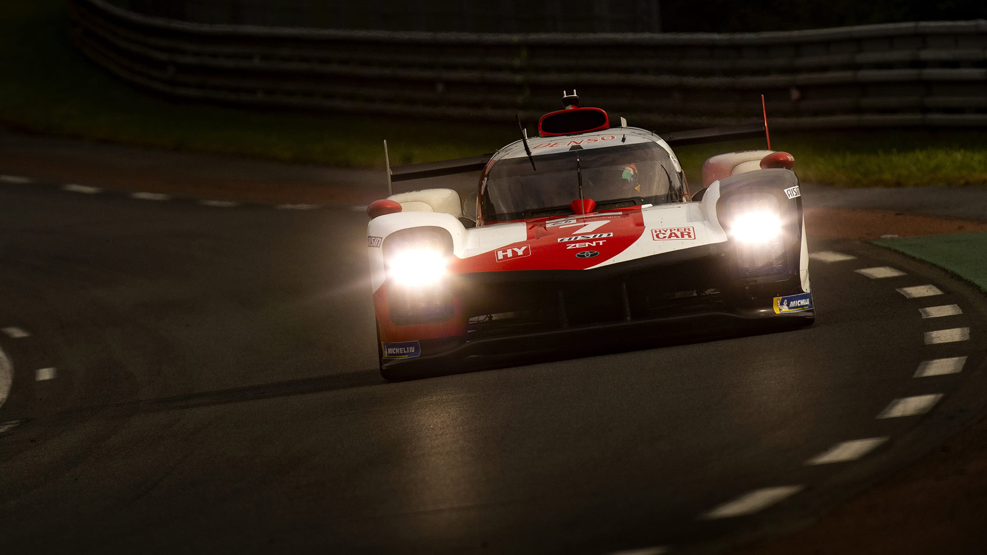 No7 Toyota Hypercar at 2021 Le Mans 24 Hours