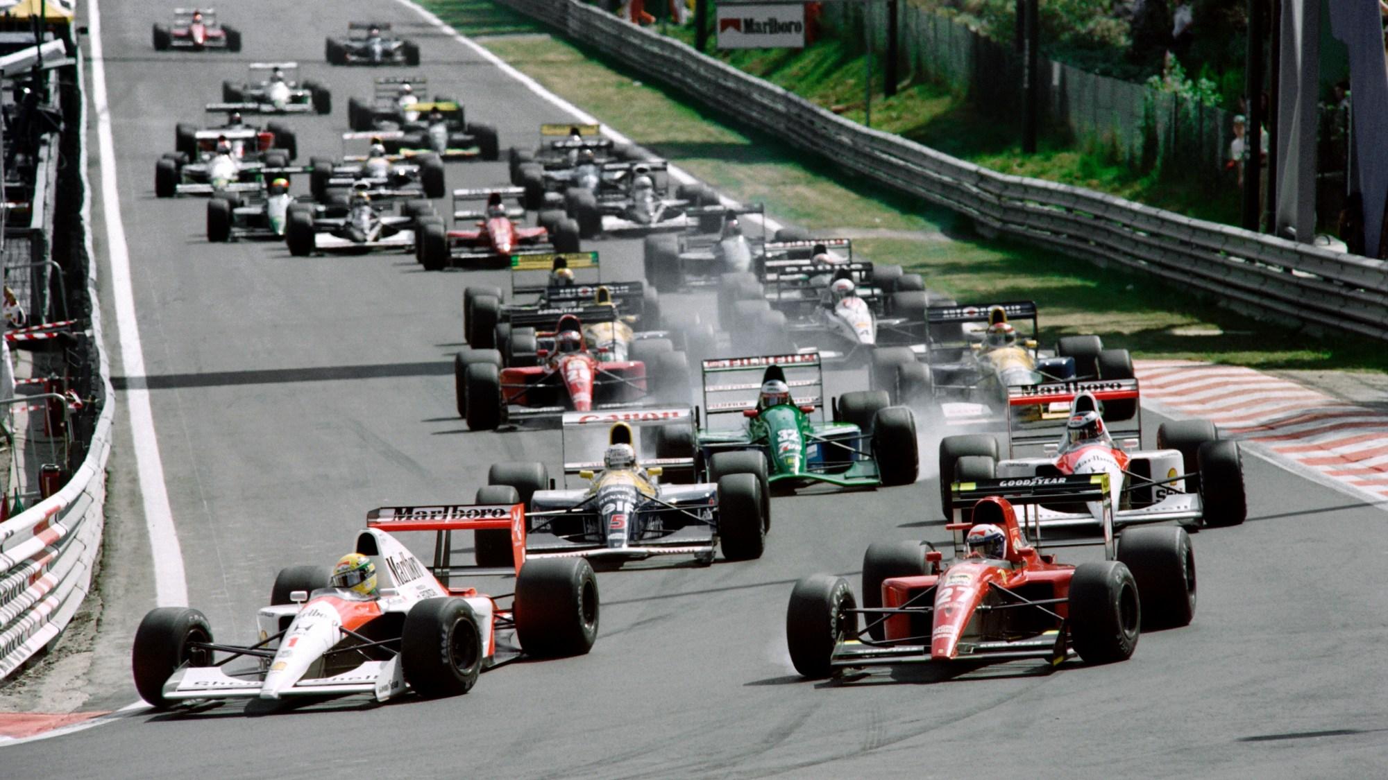 Michael Schumacher, 1991 Belgian GP