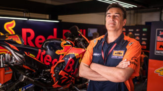 'We build our MotoGP engine so the electronics have to do as little work as possible'