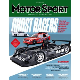 Product image for October 2021 | Ghost Racers | Motor Sport Magazine