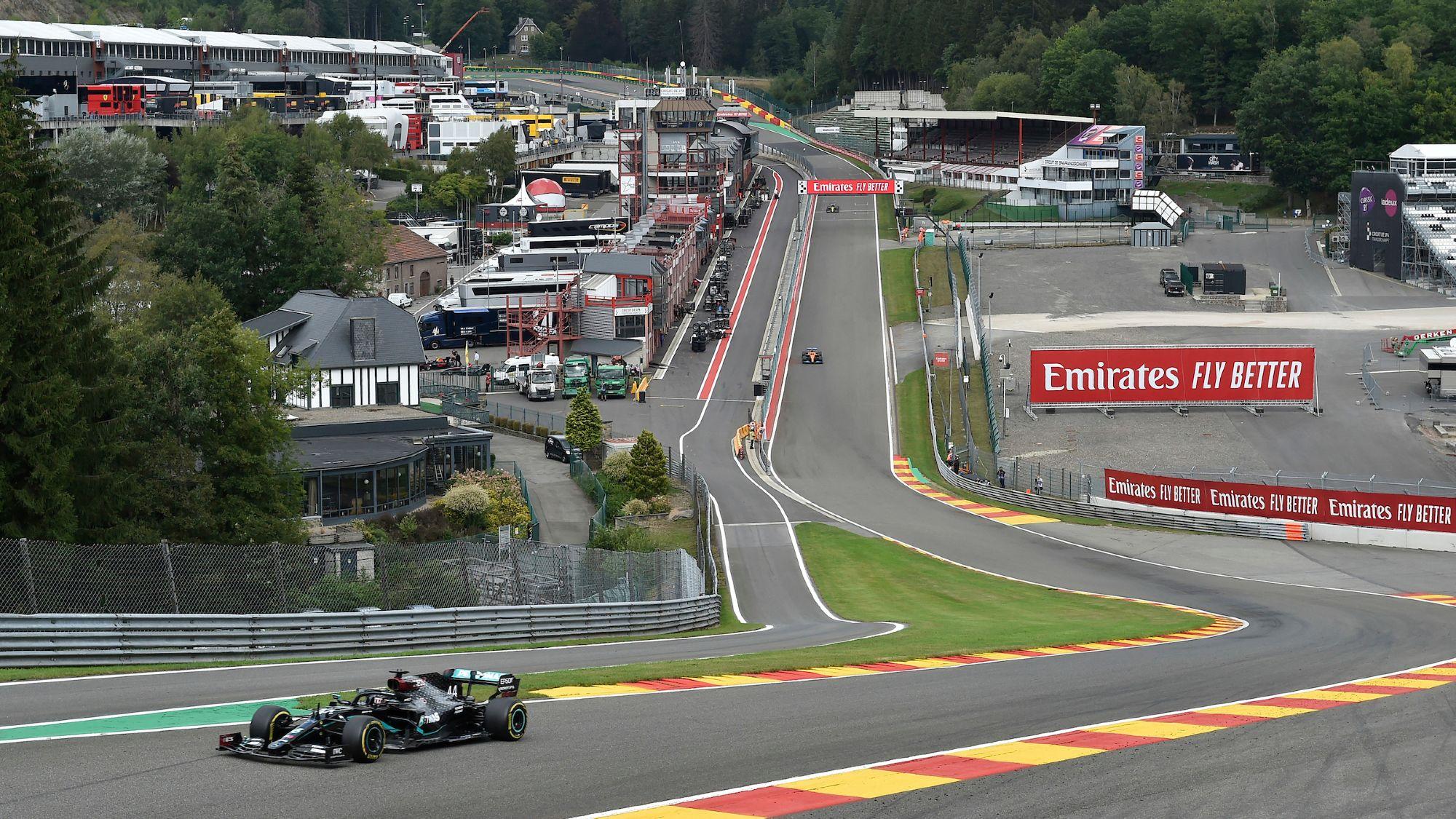 Lewis Hamilton, 2020 Belgian GP