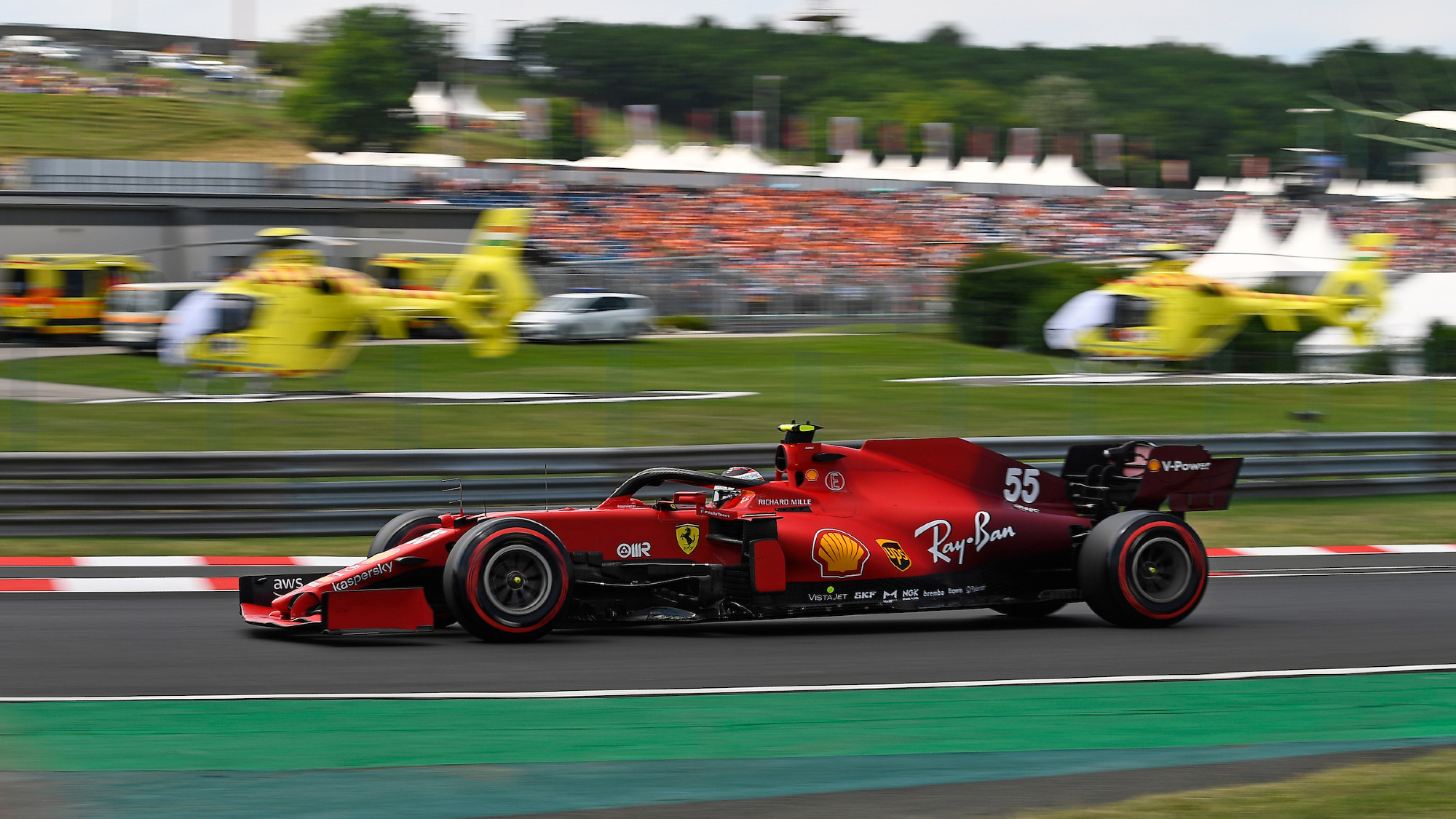 Carlos Sainz, 2021 Hungarian GP
