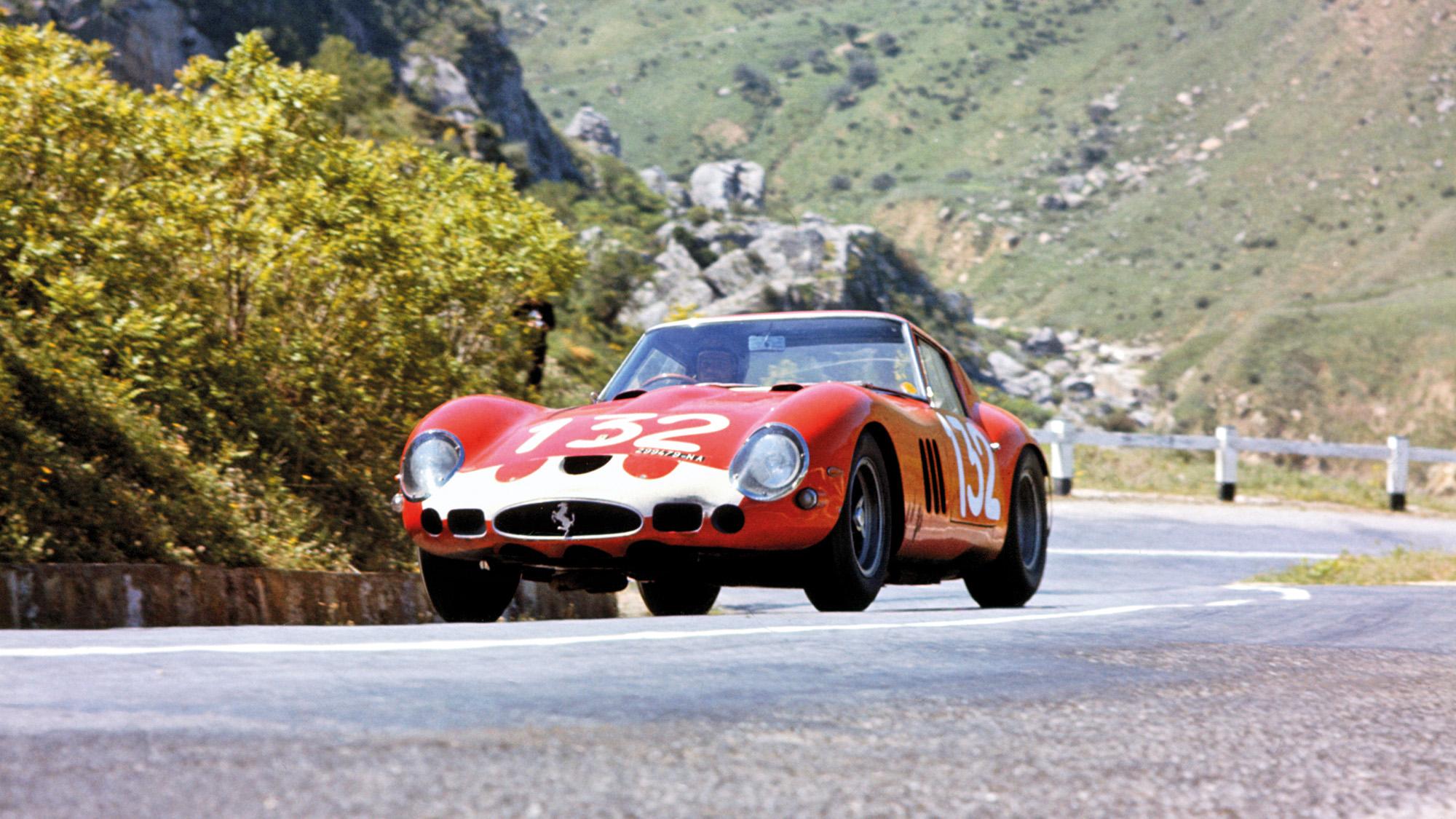 Ferrari 250 GTO in 1964 Targa Florio