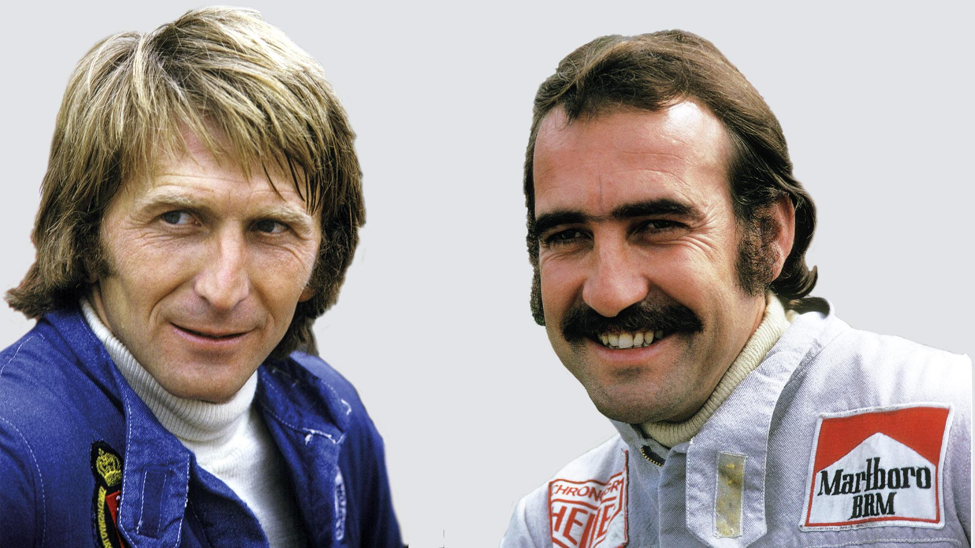 Derek Bell and Clay Regazzoni