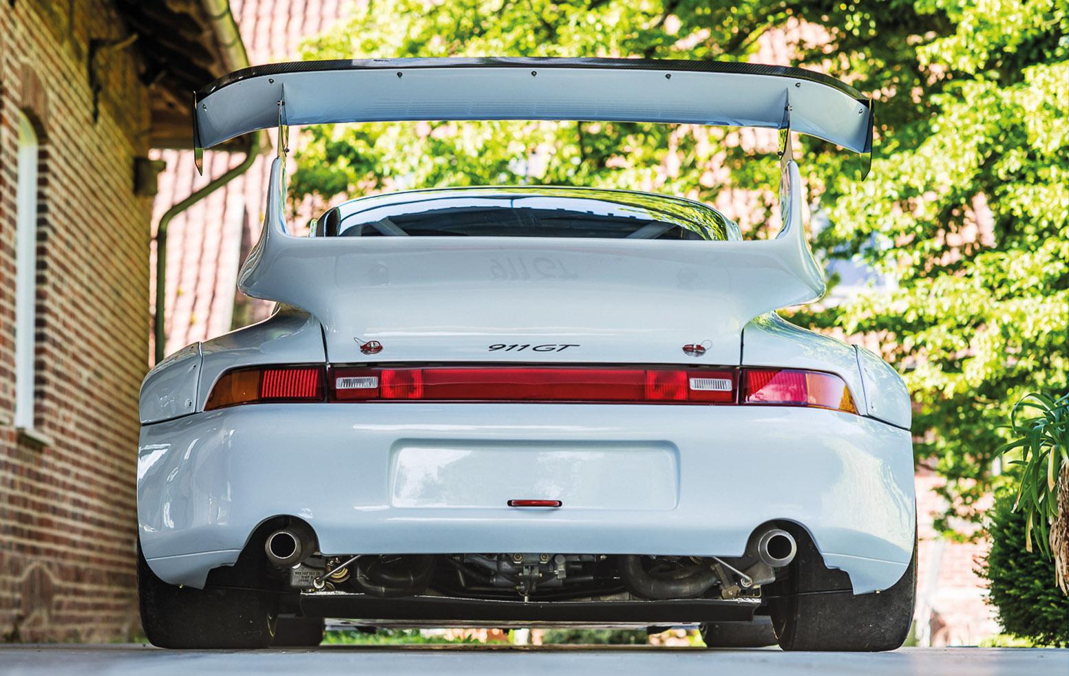 Porsche 911 993 GT2R rear wing