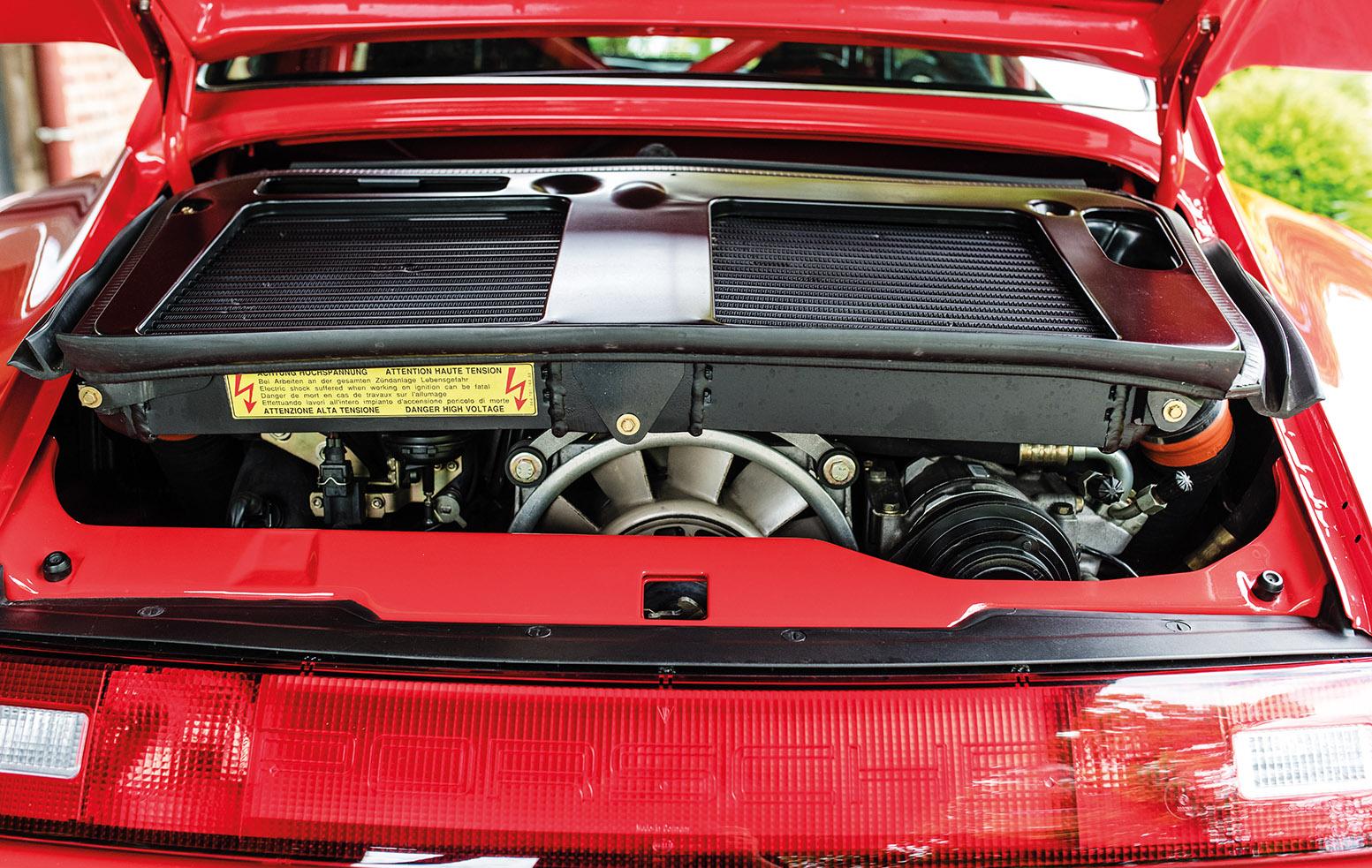 Porsche 993 911 engine
