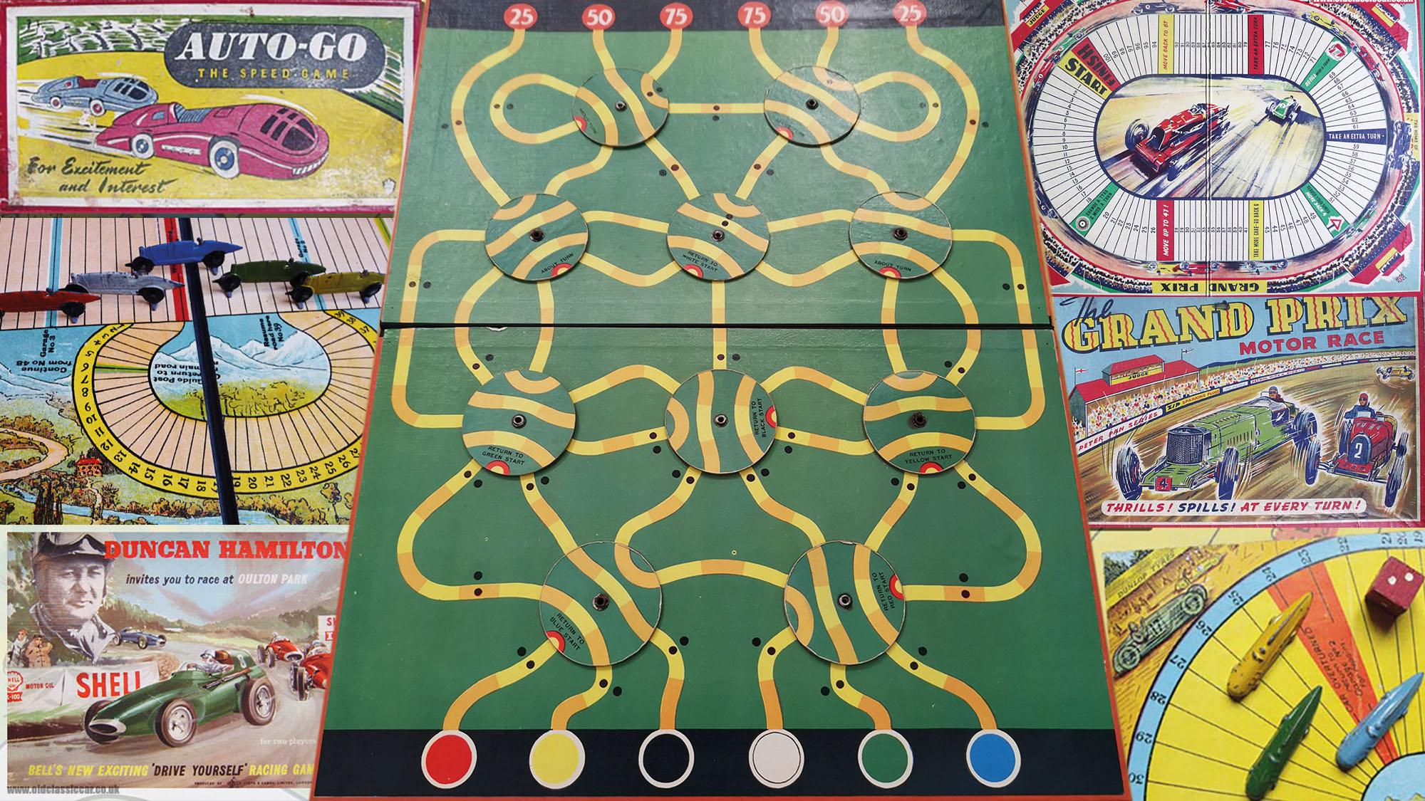 Motor Racing games header