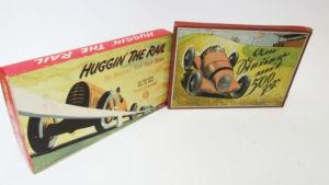 Huggin the rail board game